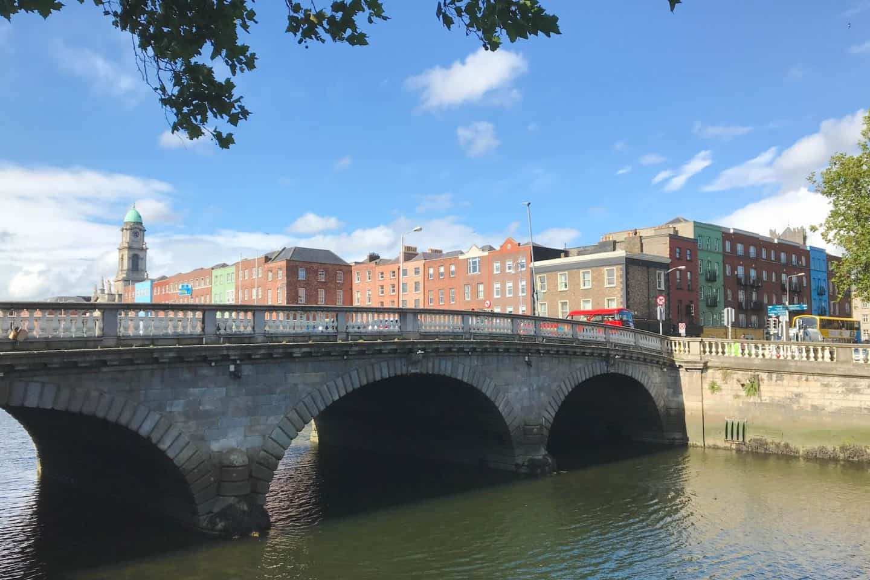 Dublin, Ireland is a very walkable city
