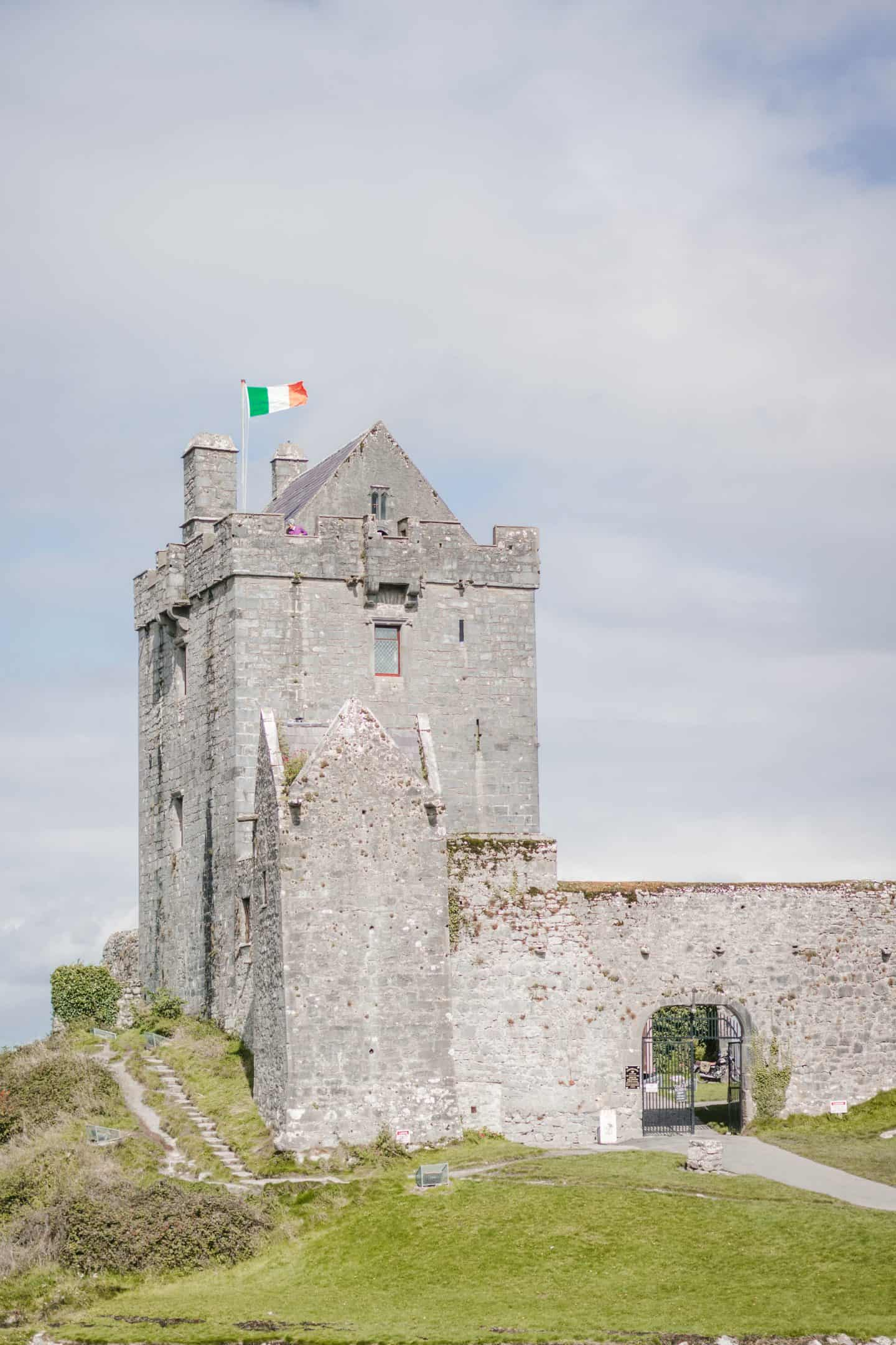 Dungaire Castle near Galway, Ireland