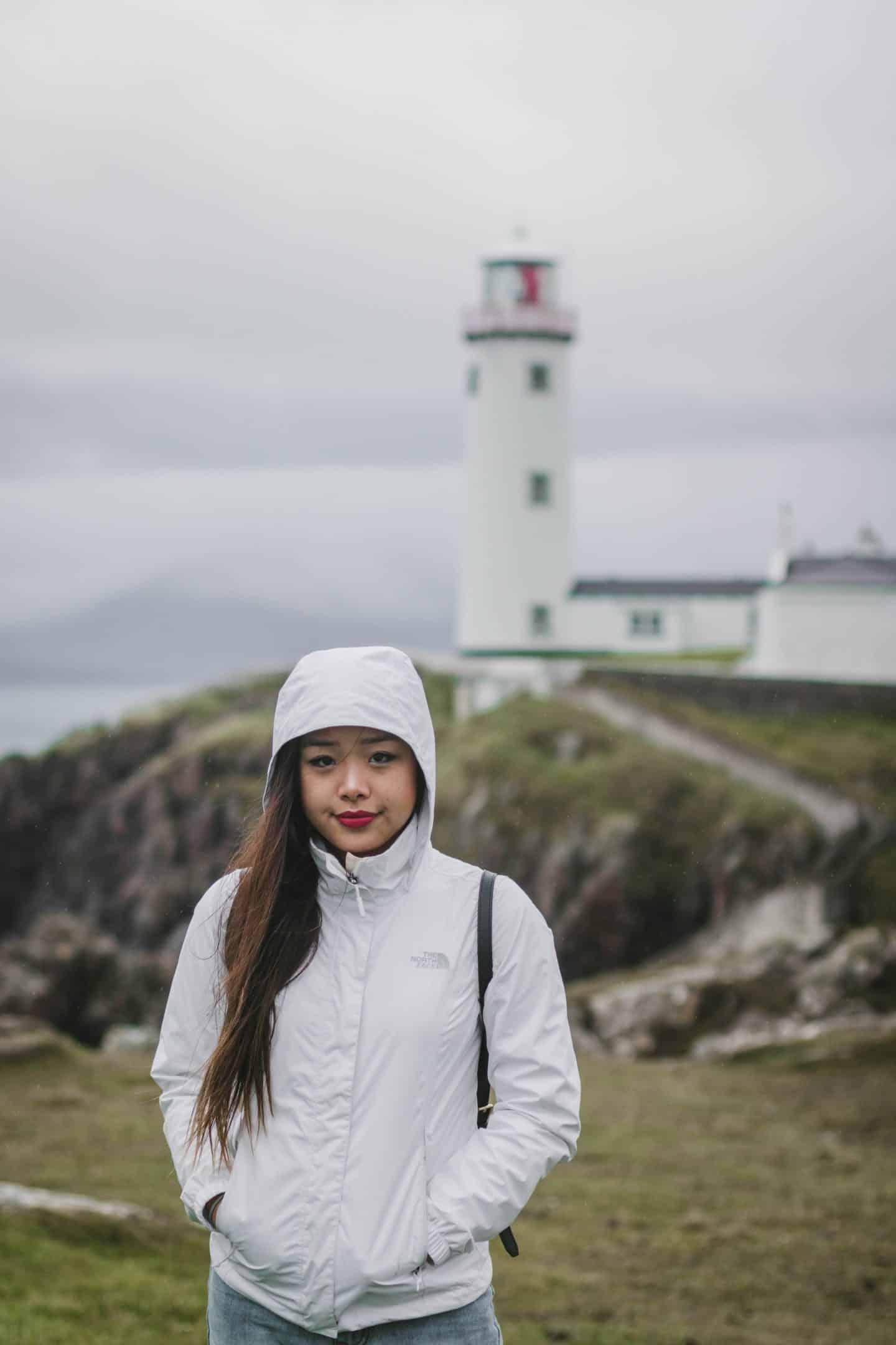 Fanad Head Lighthouse on the Fanad Peninsula in Ireland