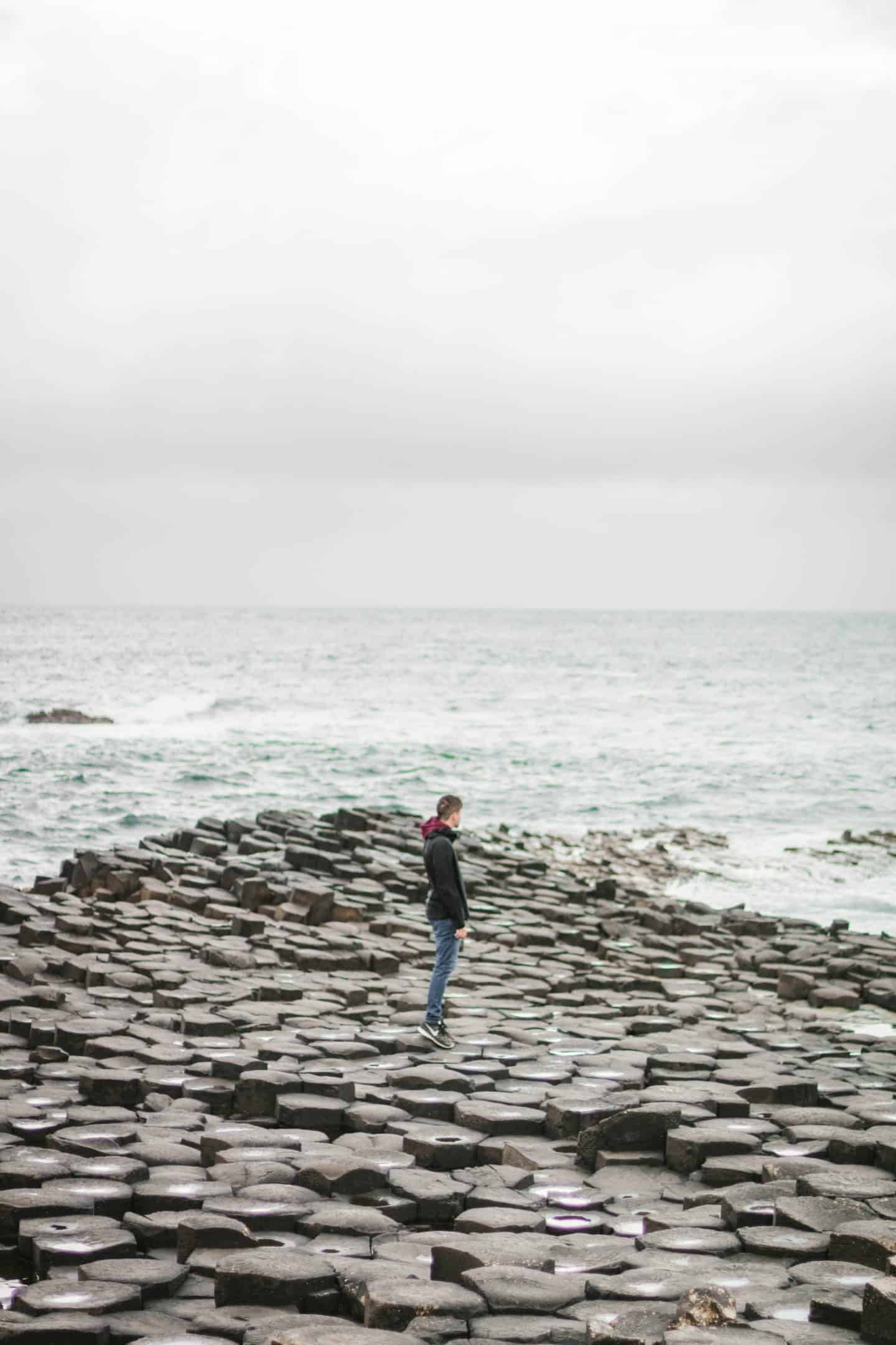 The Giant's Causeway is worth stopping along your Ireland road trip itinerary
