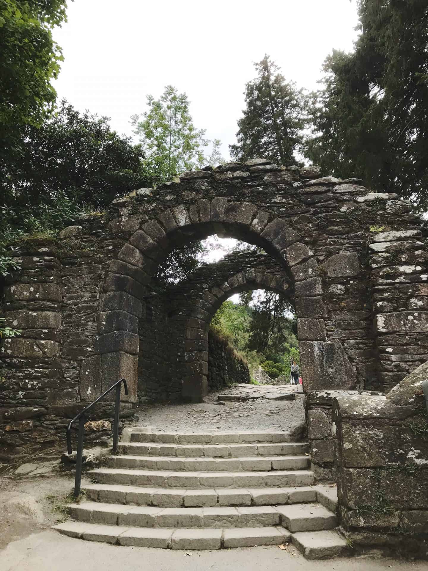 Glendalough Monastic Site in Wicklow, Ireland