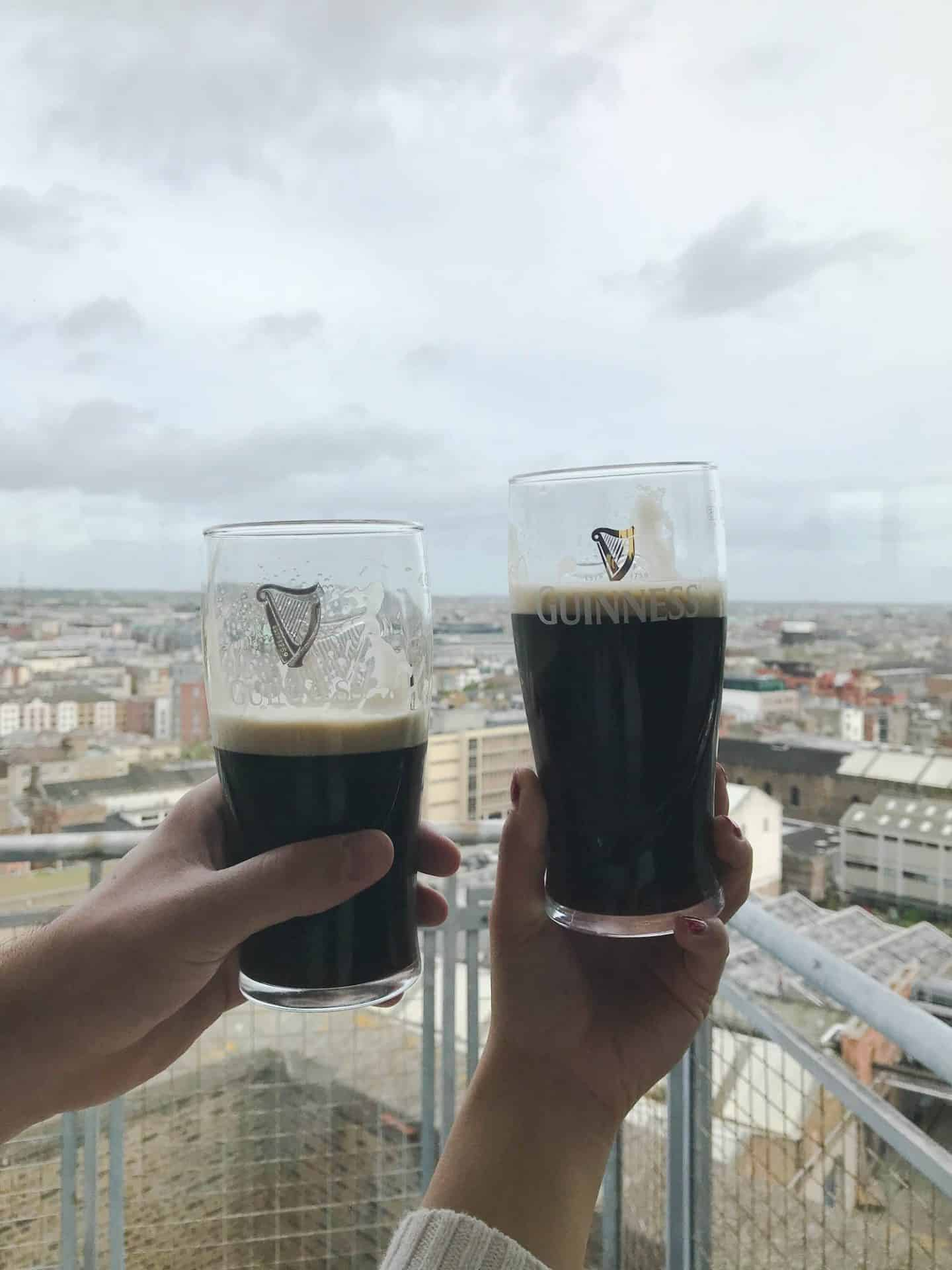 The Guinness Storehouse is one of the best stops along your Ireland road trip itinerary
