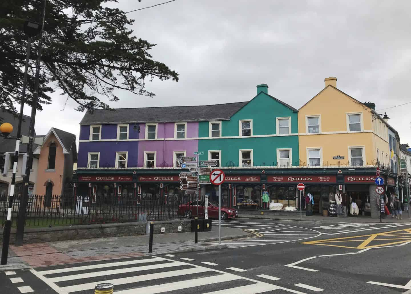 Kenmare is an adorable and colourful small town in Ireland, and definitely worth adding to your road trip itinerary