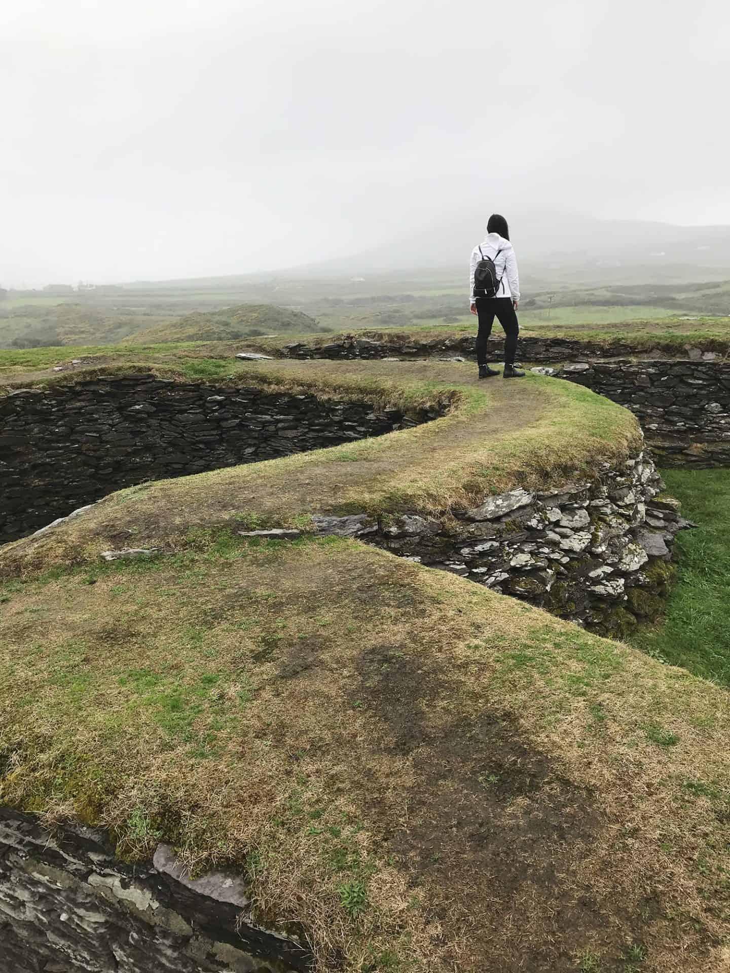 Leacanabuaile Stone Fort in Ireland