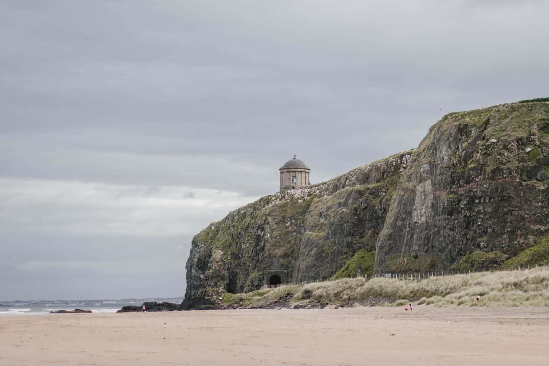 Downhill Strand & Mussenden Temple in Ireland