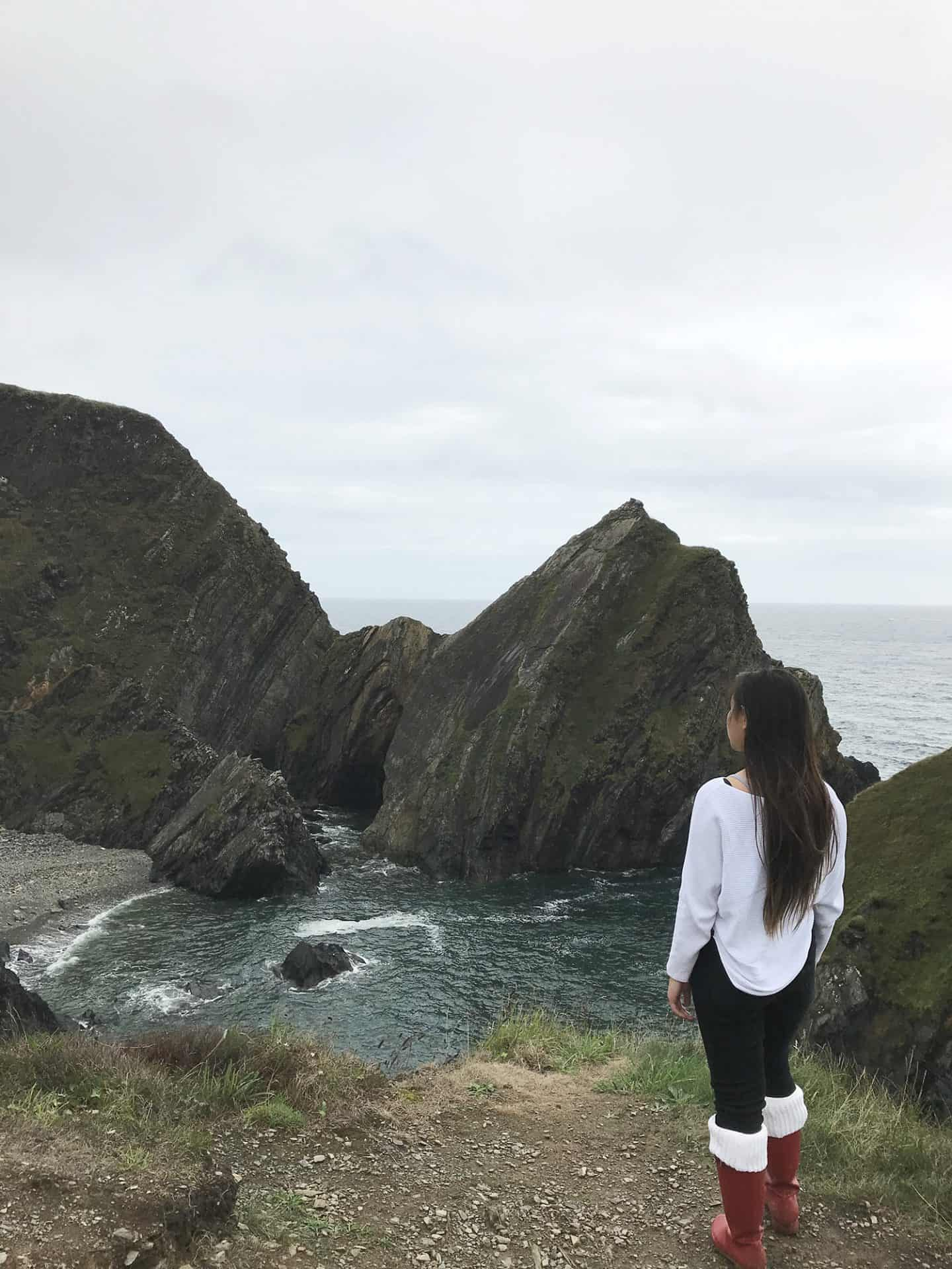 Nohoval Cove in Cork, Ireland