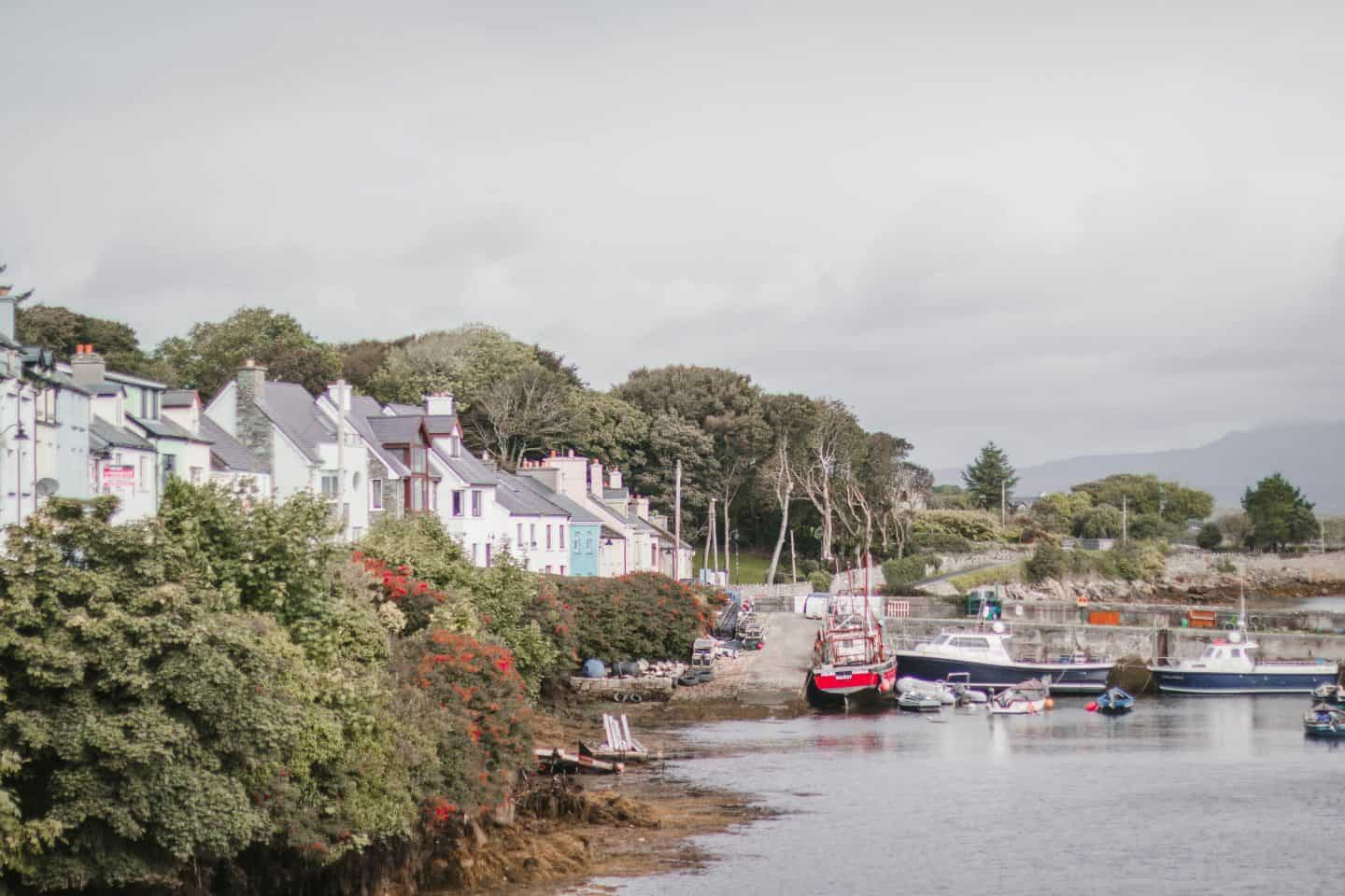 Roundstone Village is a cute town in Ireland