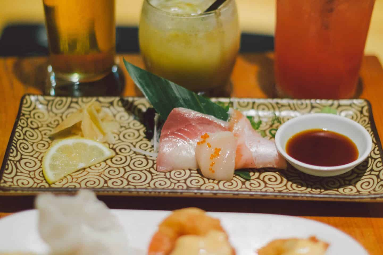 Chef's choice sashimi platter during Kinkalicious at Kinka Izakaya