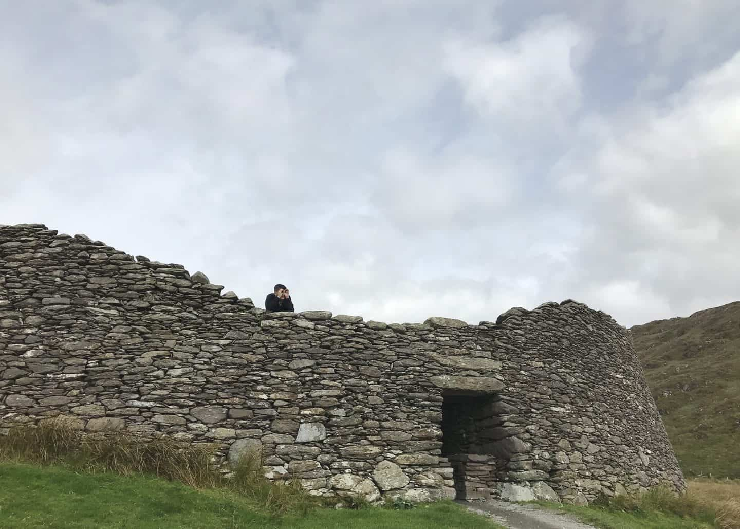 Staigue Fort in Kerry, Ireland