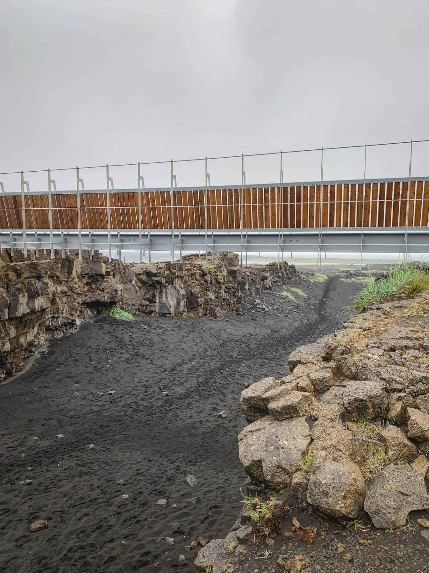 Brú Milli Heimsálfa in Iceland
