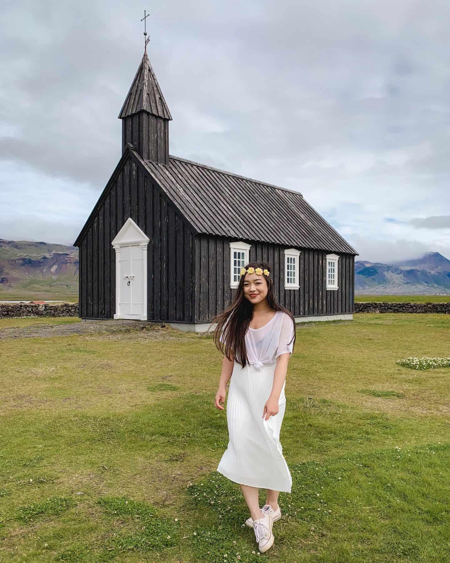 Búðakirkja Black Church, Iceland