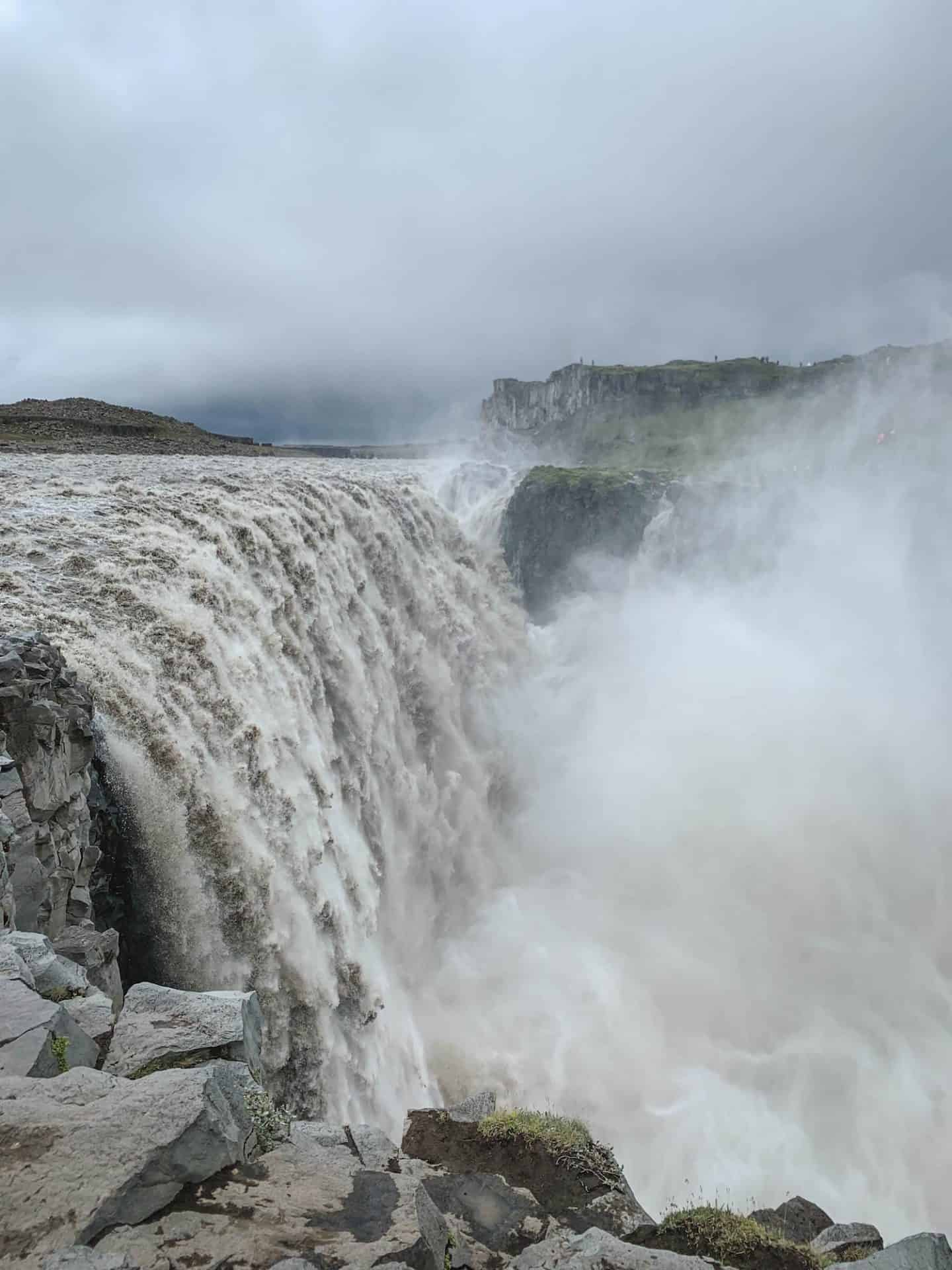 Dettifoss Waterfall in Myvatn, Iceland