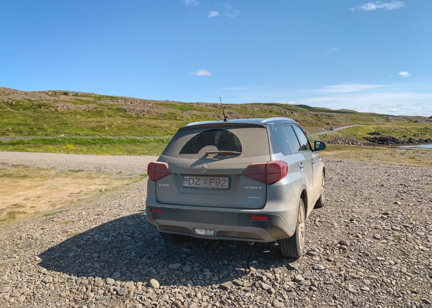 4x4 car rental for driving on Iceland's F roads