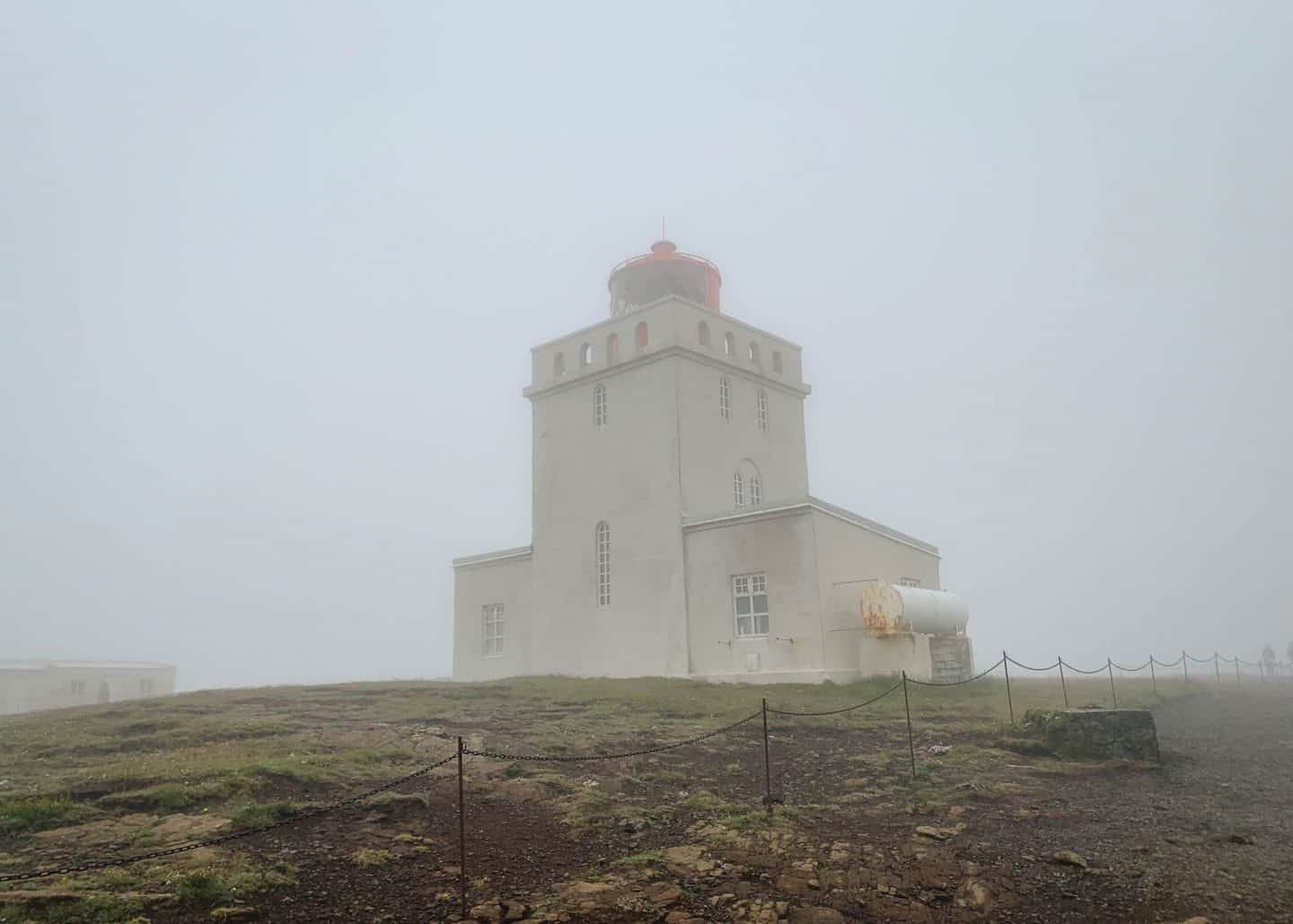 Dyrhólaey Lighthouse along the Ring Road in Iceland