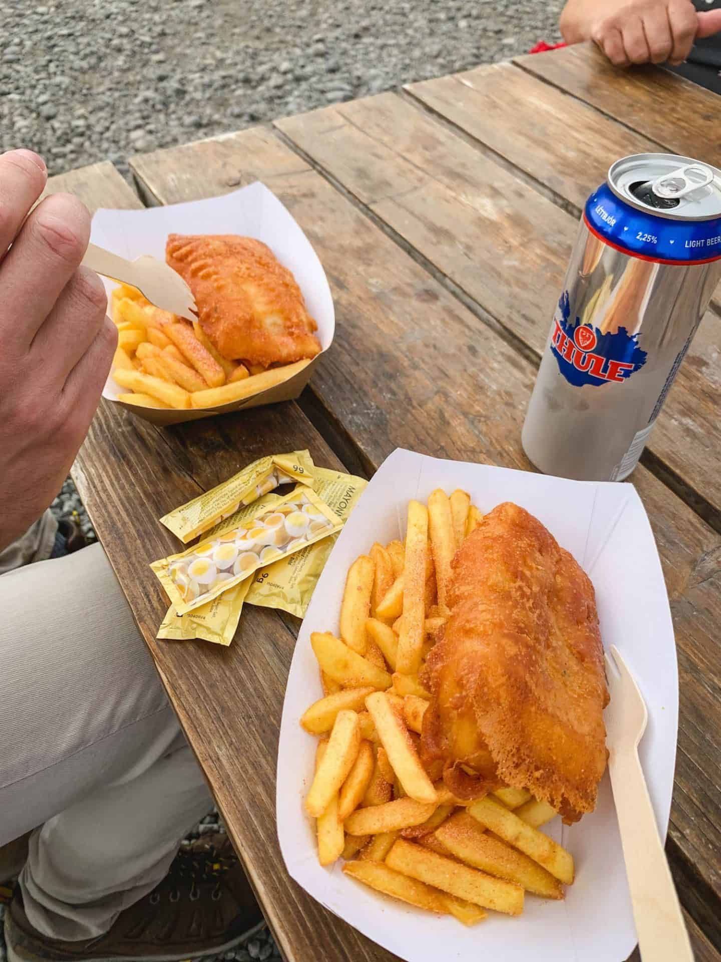 Nailed It Fish and Chips serves up the best fish and chips in all of Iceland