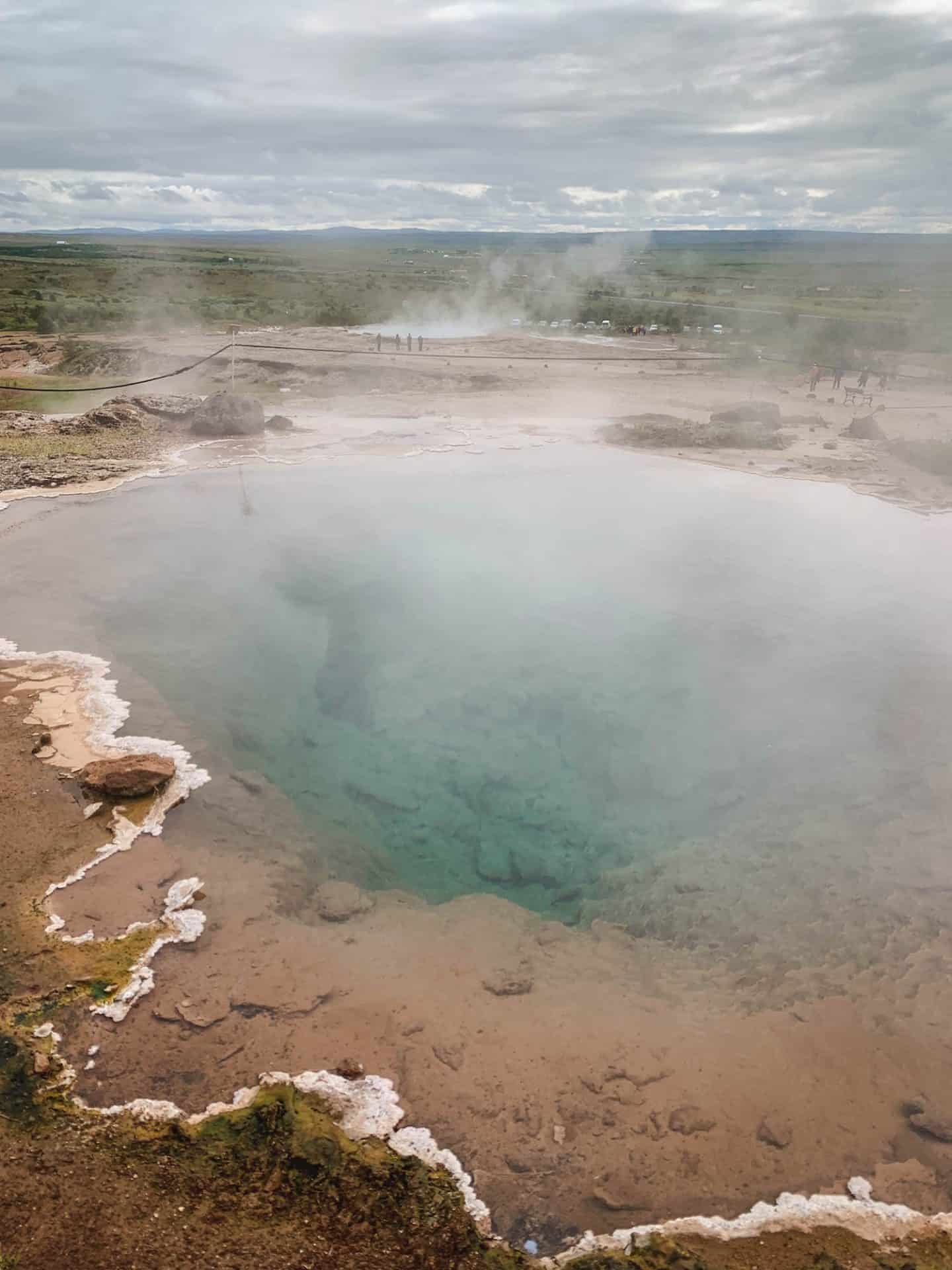Geysir & Strokkur on the Golden Circle along Iceland's Ring Road