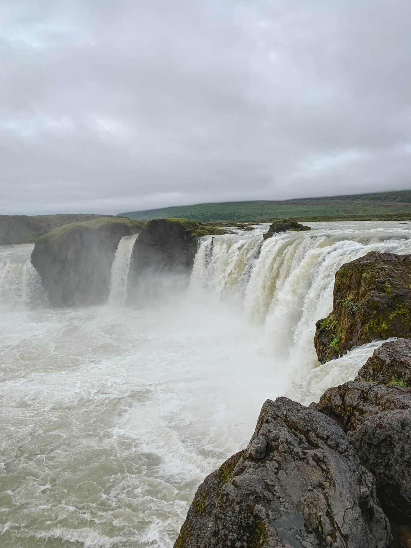 Godafoss Waterfall along the Ring Road in North Iceland