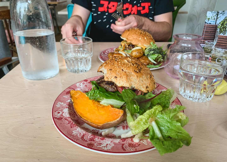Gott Restaurant on the Westman Islands in Iceland