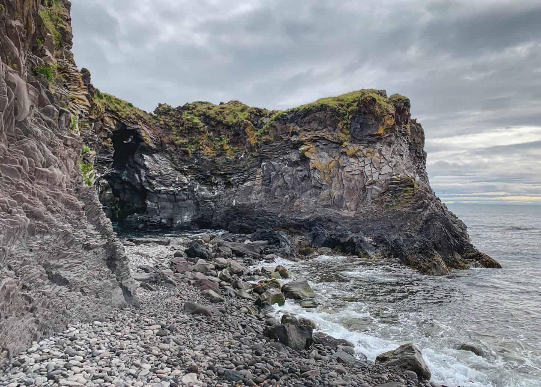 Arnarstapi on the Snæfellsnes Peninsula in Iceland