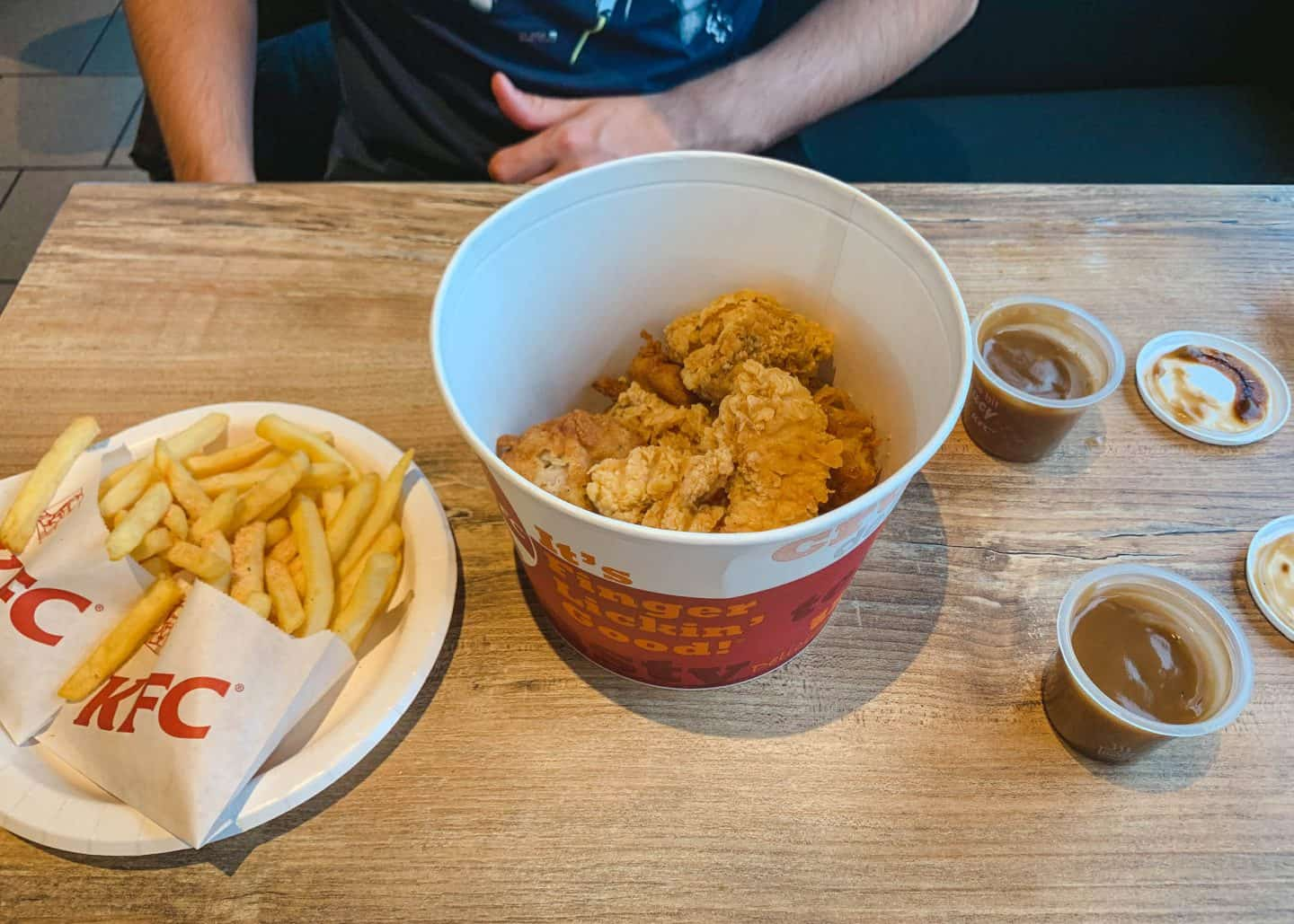 KFC in Iceland supposedly is the best in the world