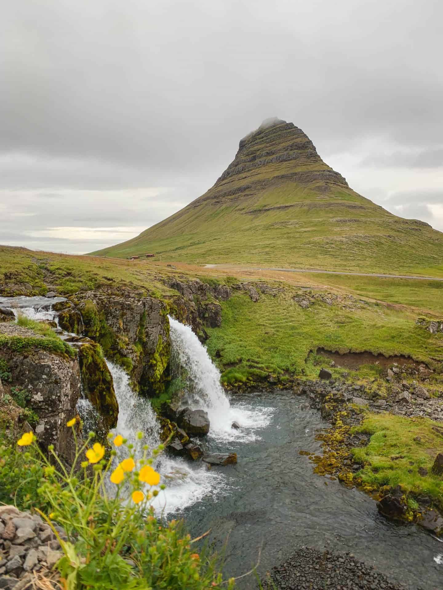 Kirkjufell Mountain along the Ring Road in Iceland