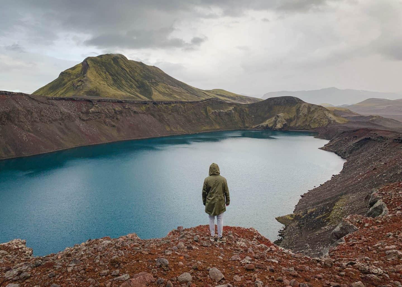 Ljótipollur in the Icelandic Highlands