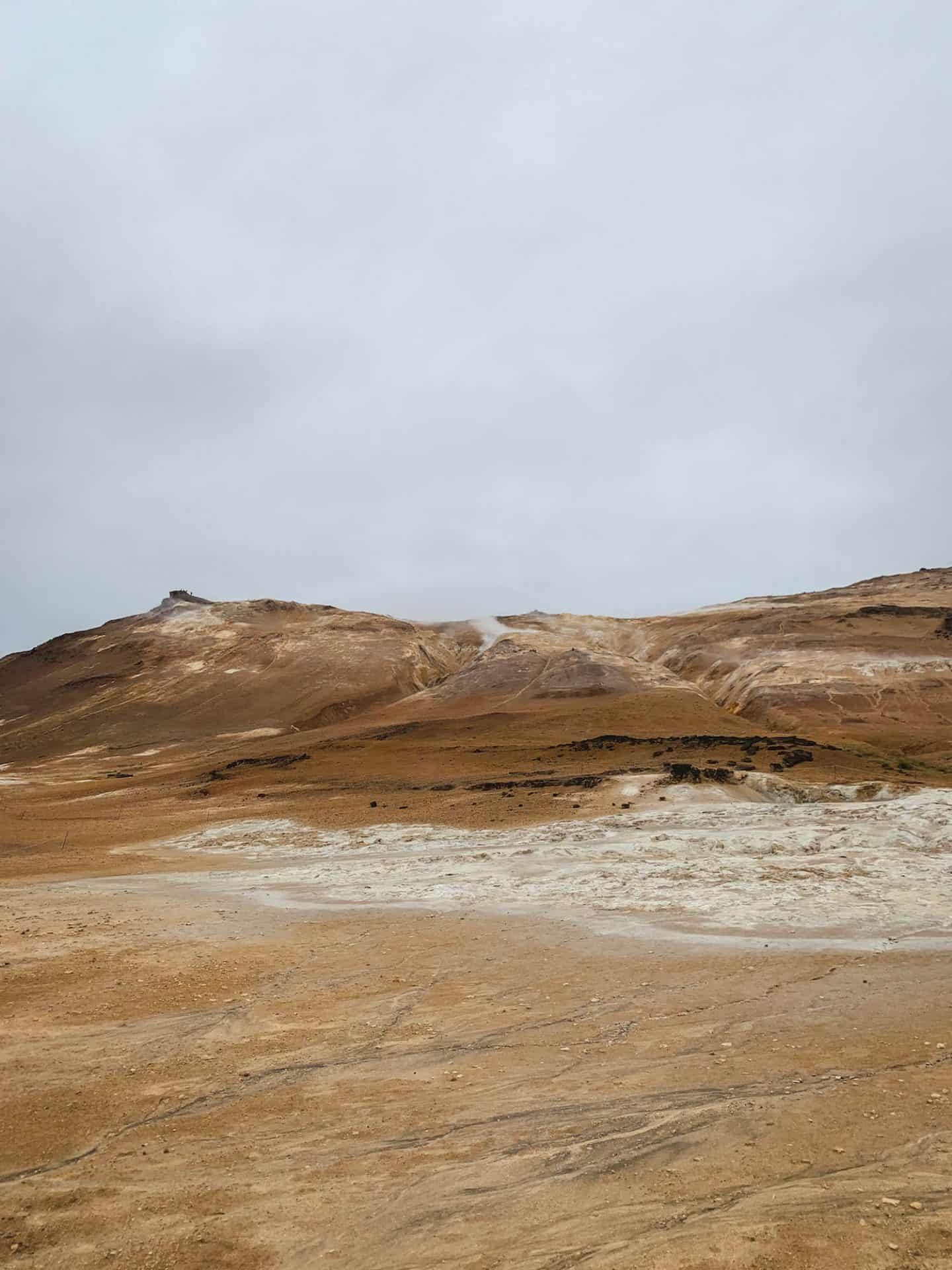 Namaskardh geysers in Myvatn, Iceland