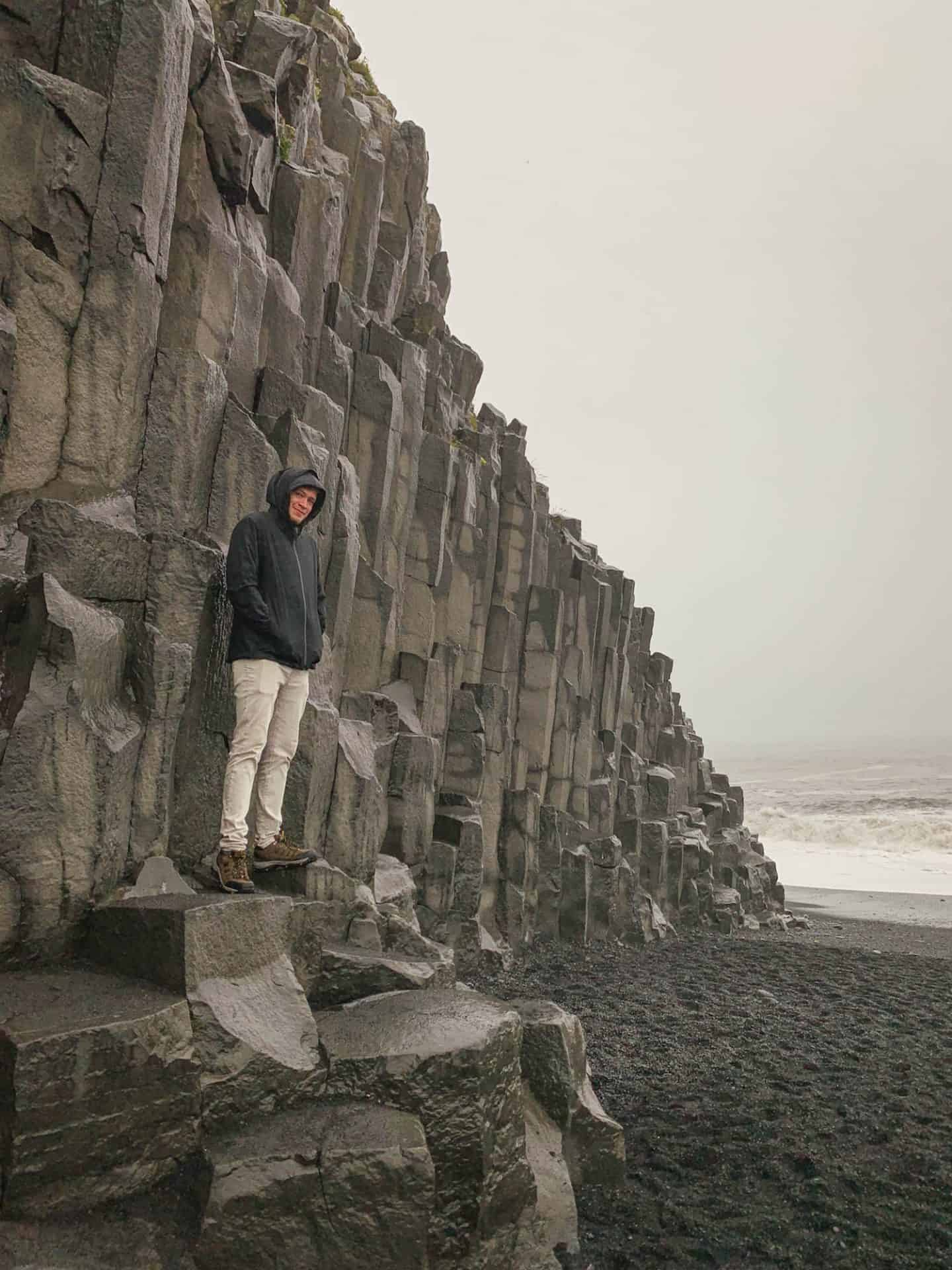 Reynisfjara Beach along the Ring Road in Iceland
