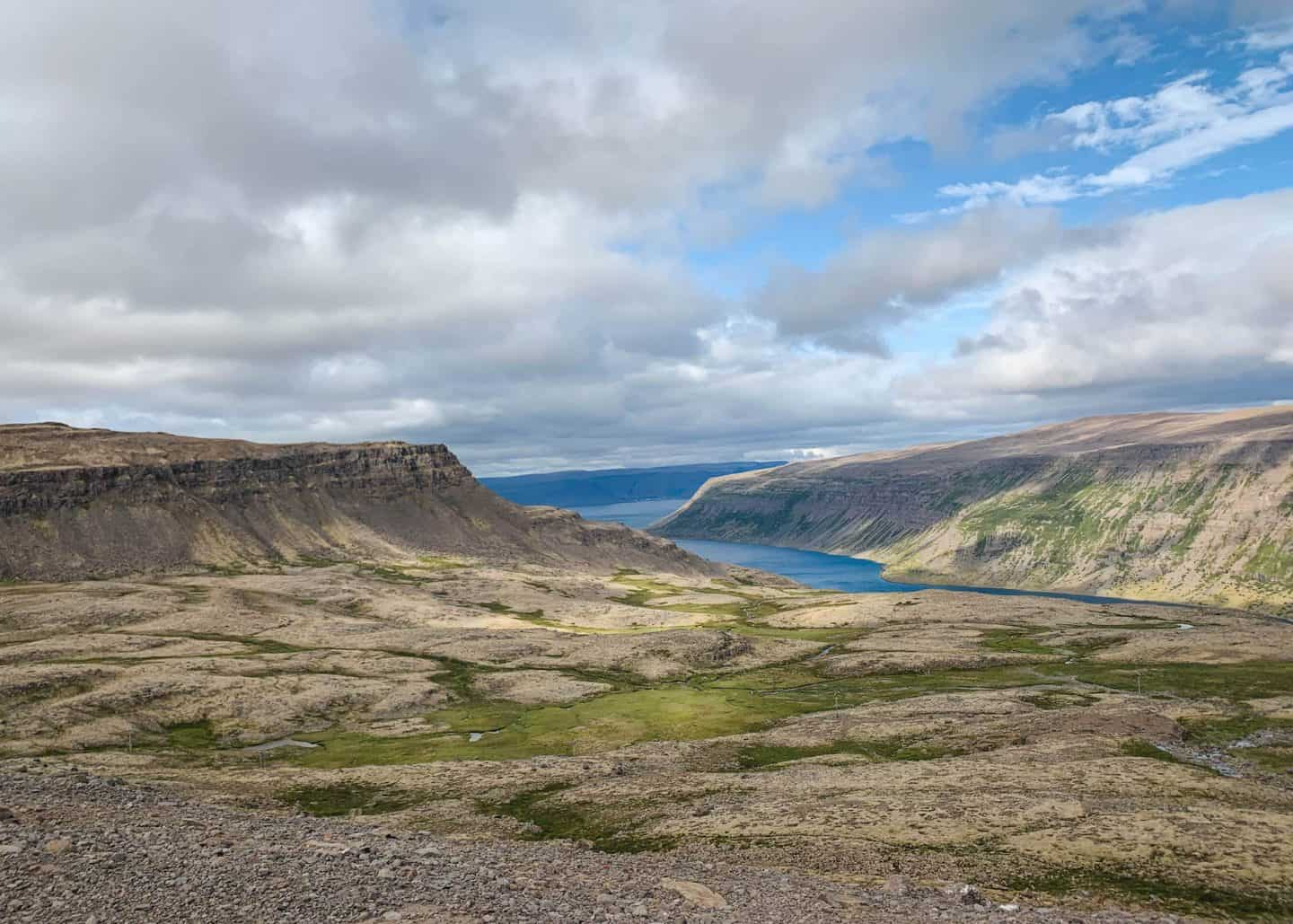 Driving along Iceland's Ring Road