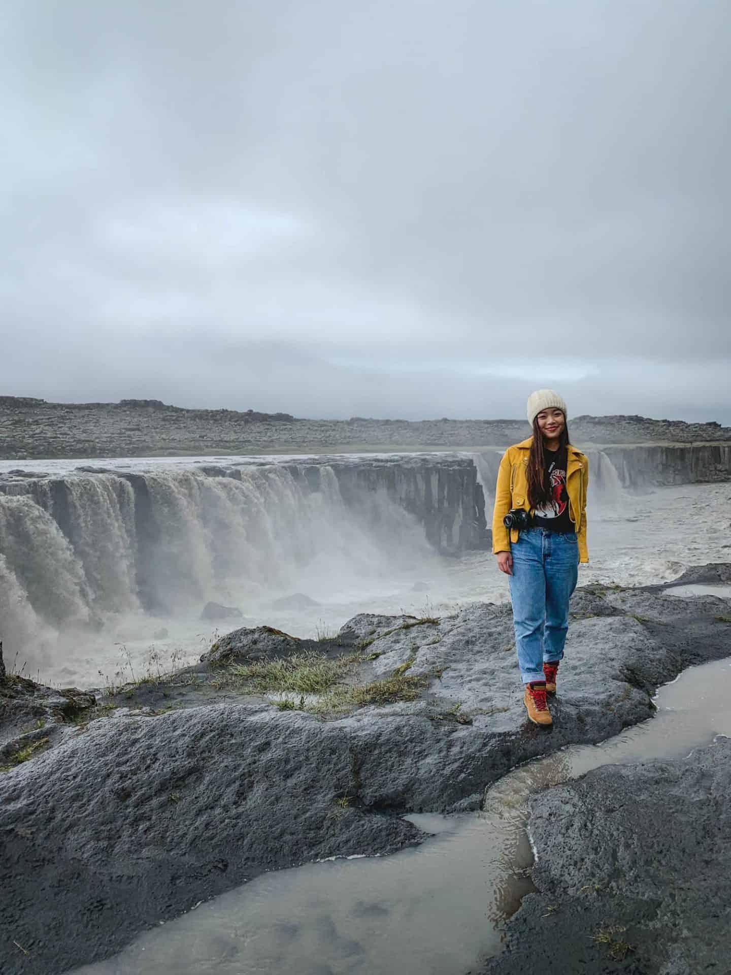 Selfoss Waterfall in Myvatn, Iceland