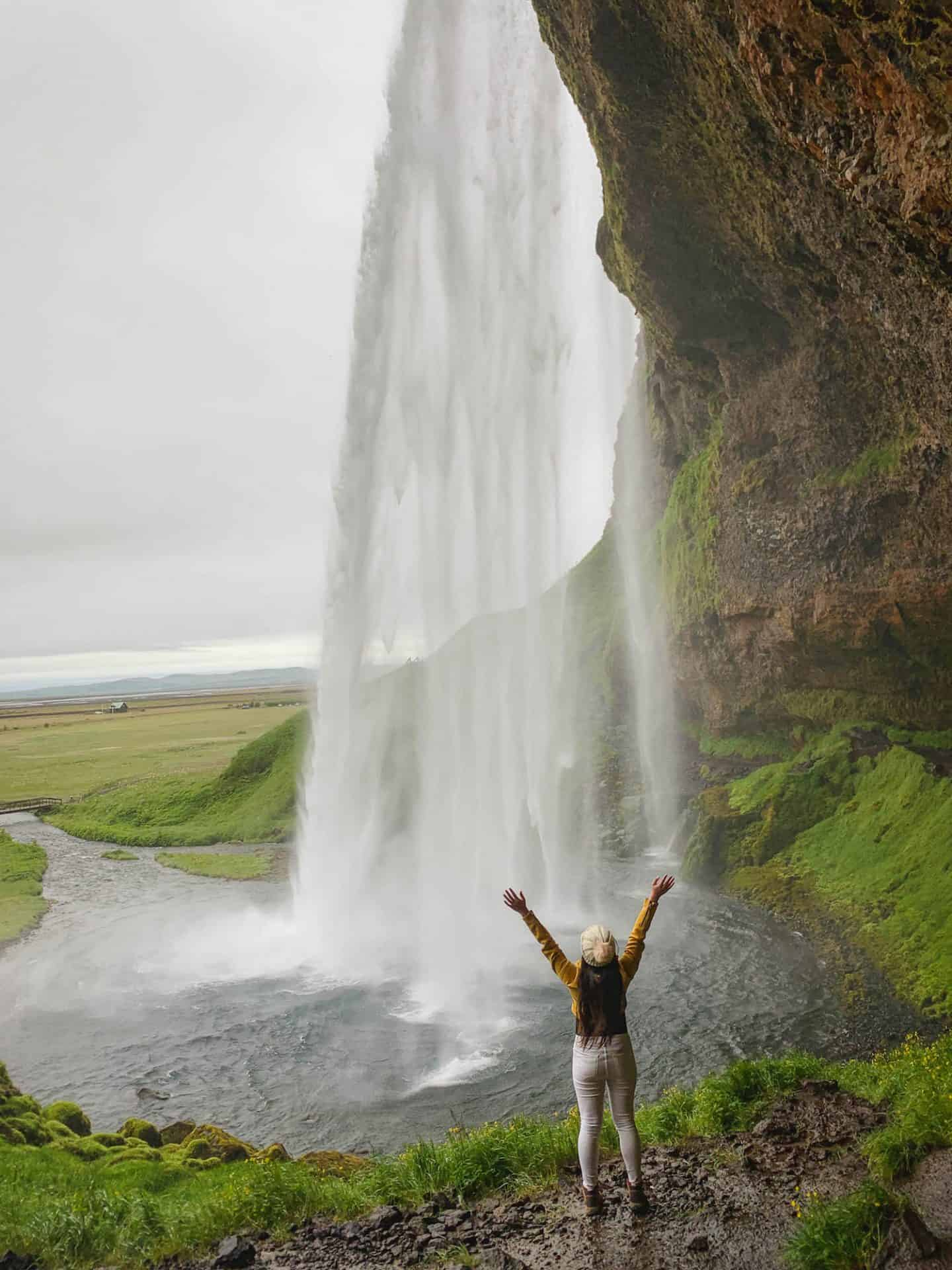 Seljalandsfoss Waterfall along the Iceland Ring Road