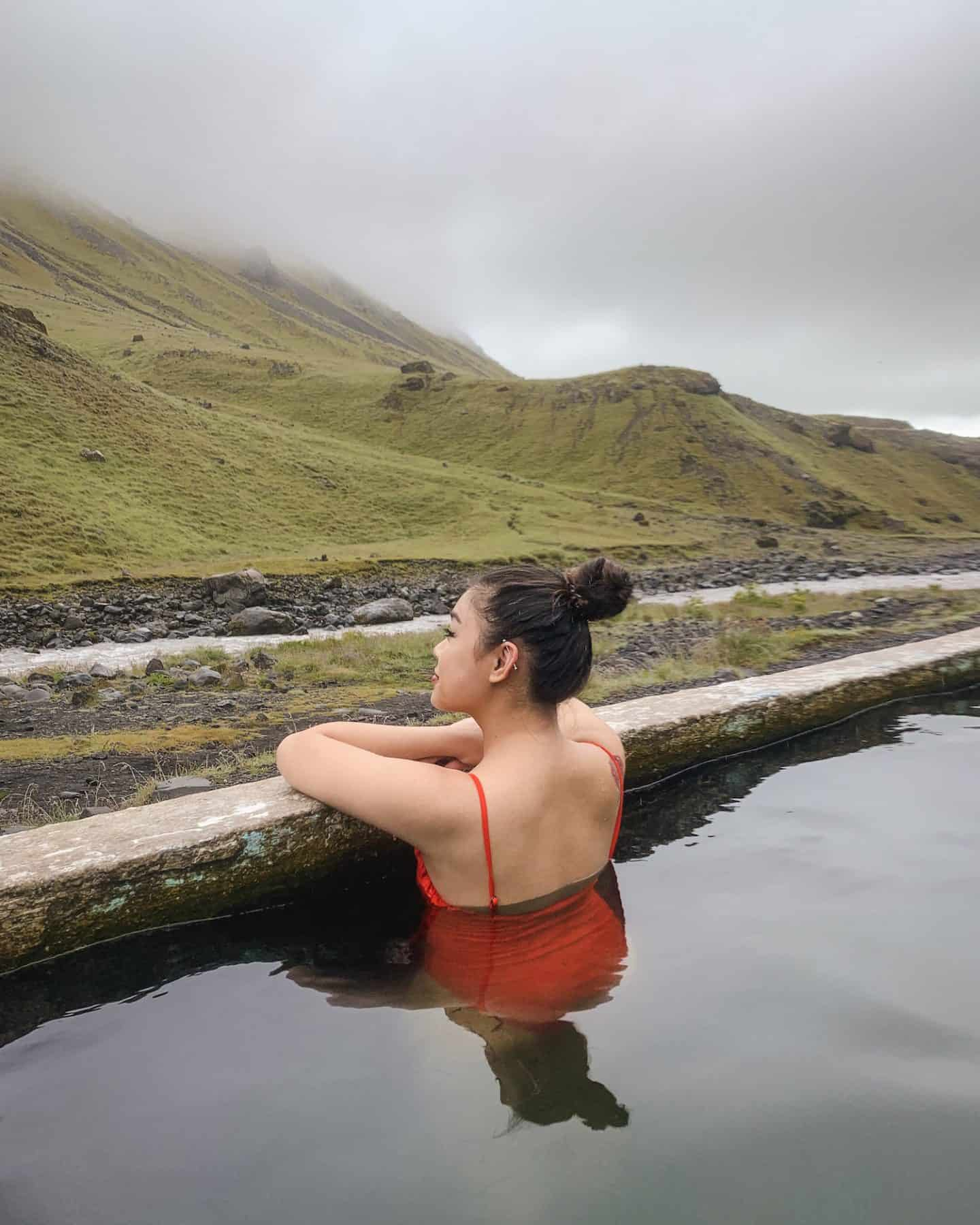 Seljavallalaug Pool along the Ring Road in Iceland