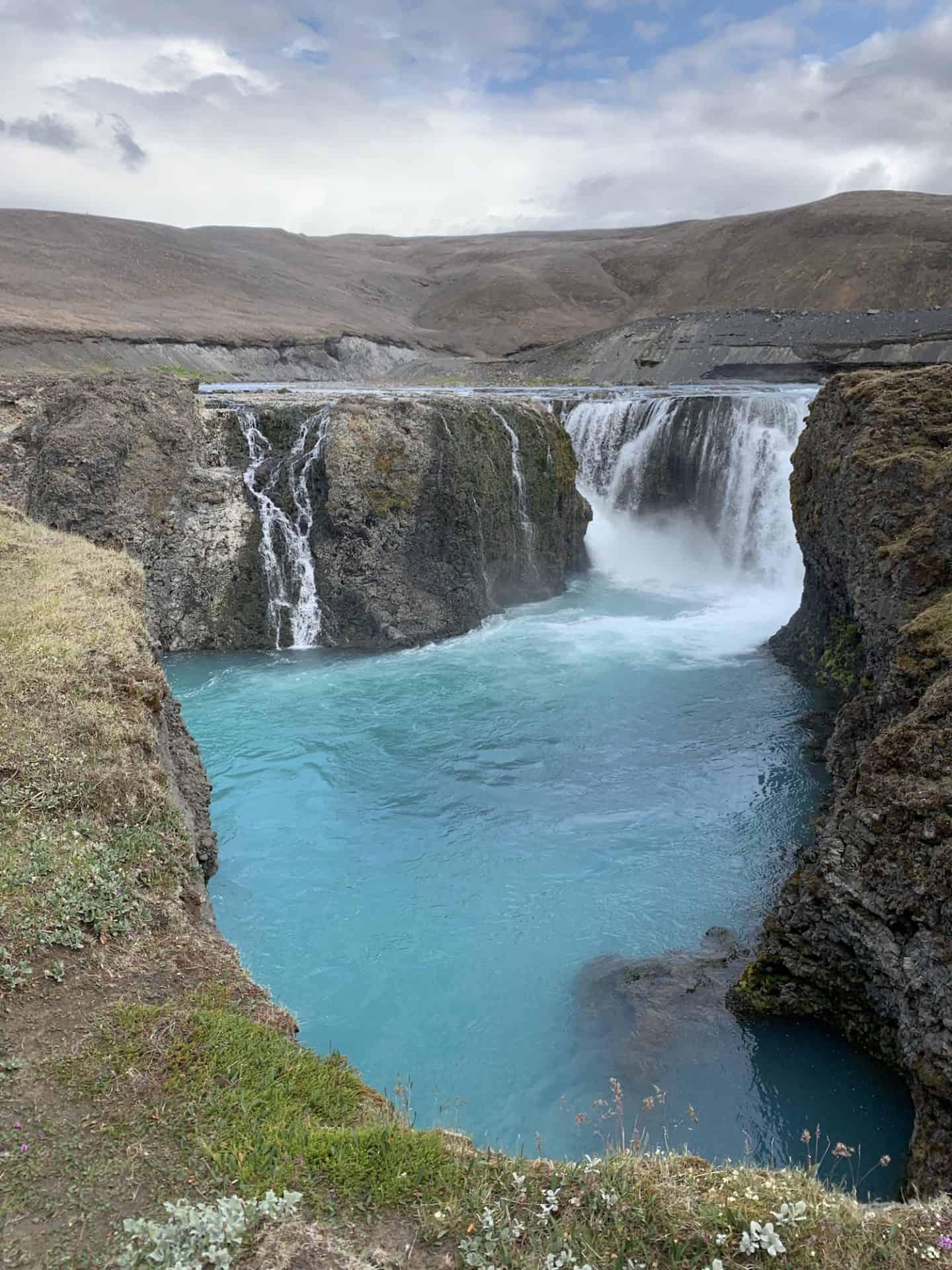 Sigoldufoss in the Icelandic Highlands
