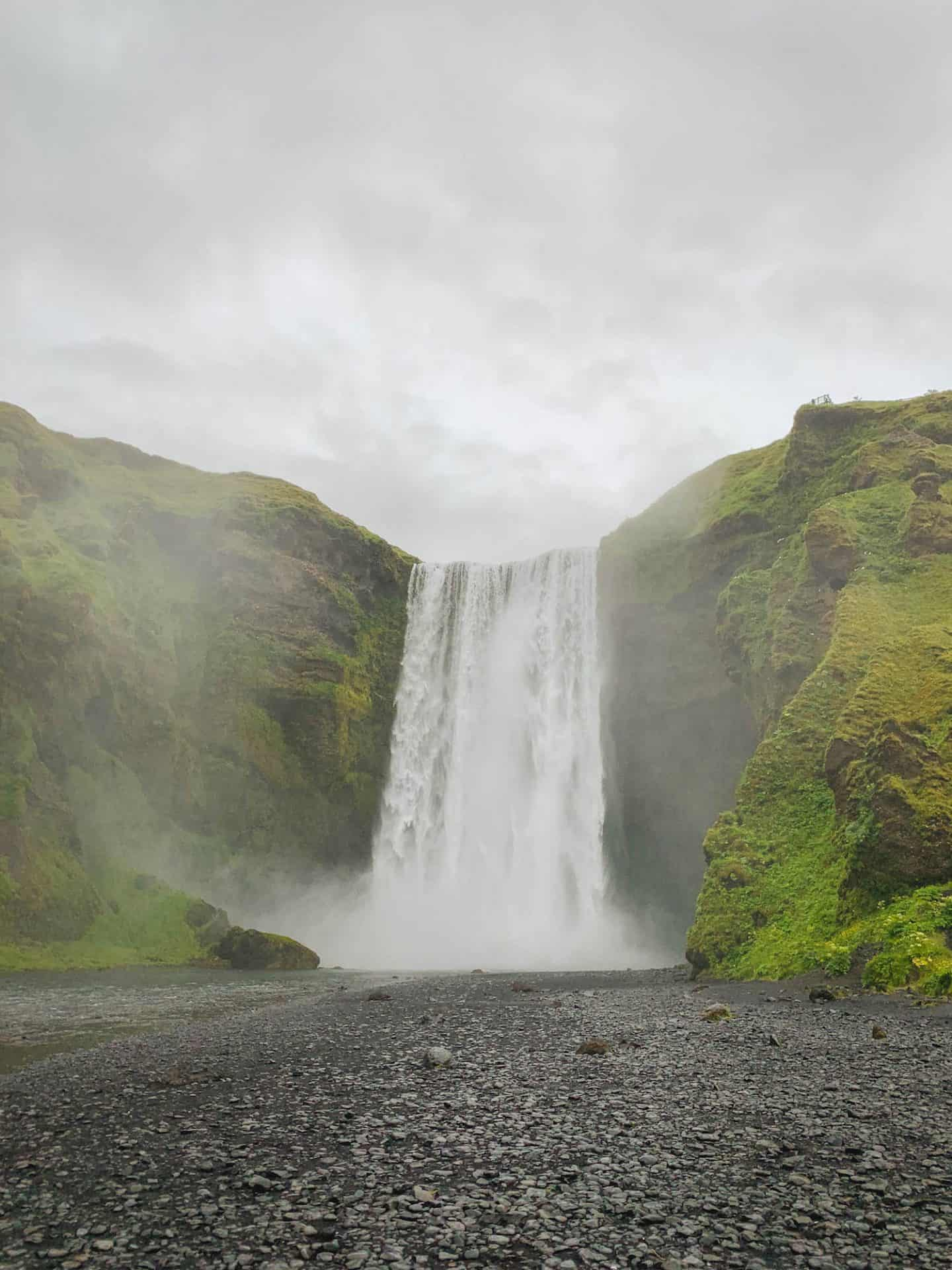 Skógafoss Waterfall along the Iceland Ring Road