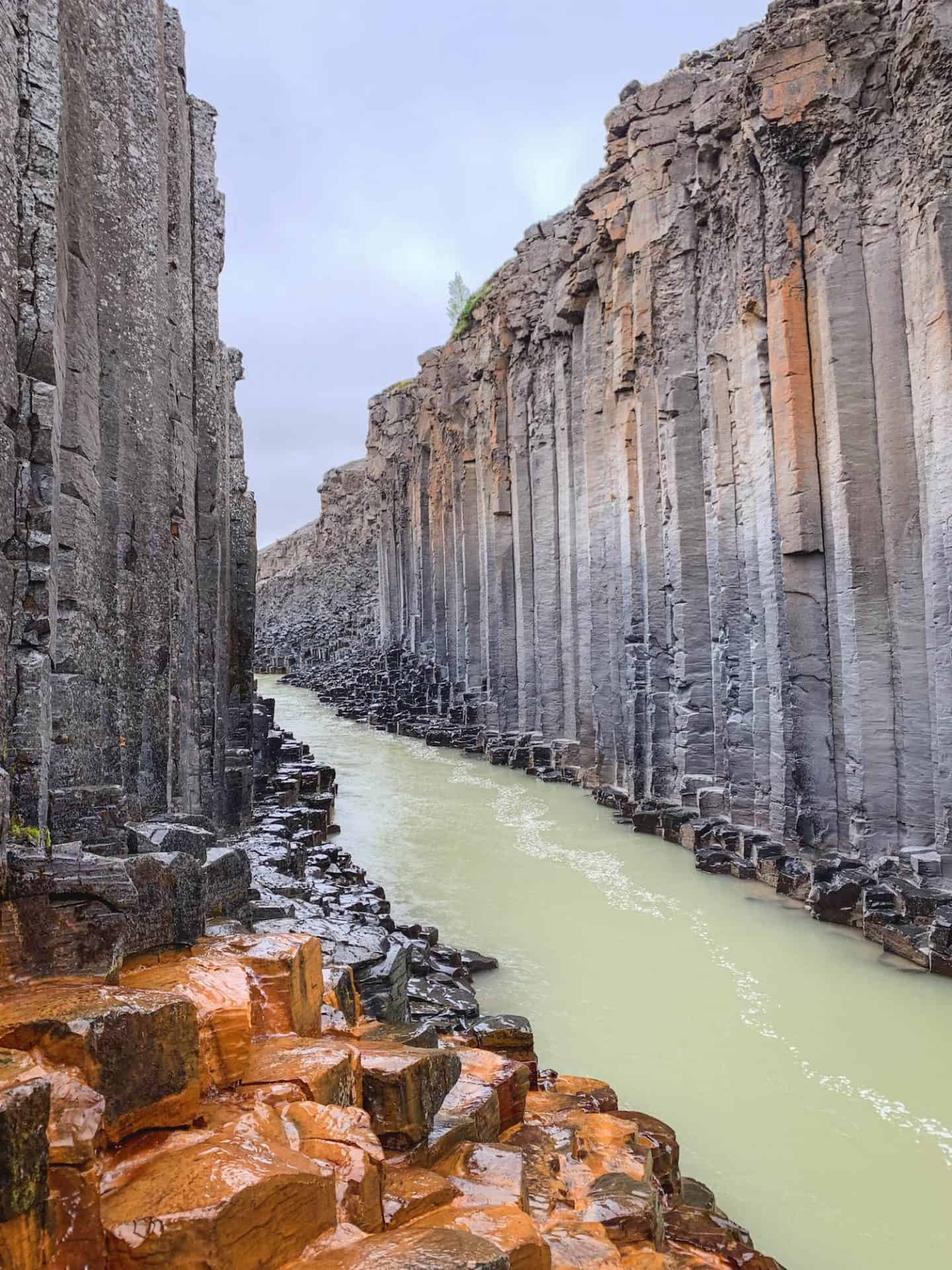 Studlagil Canyon in East Iceland