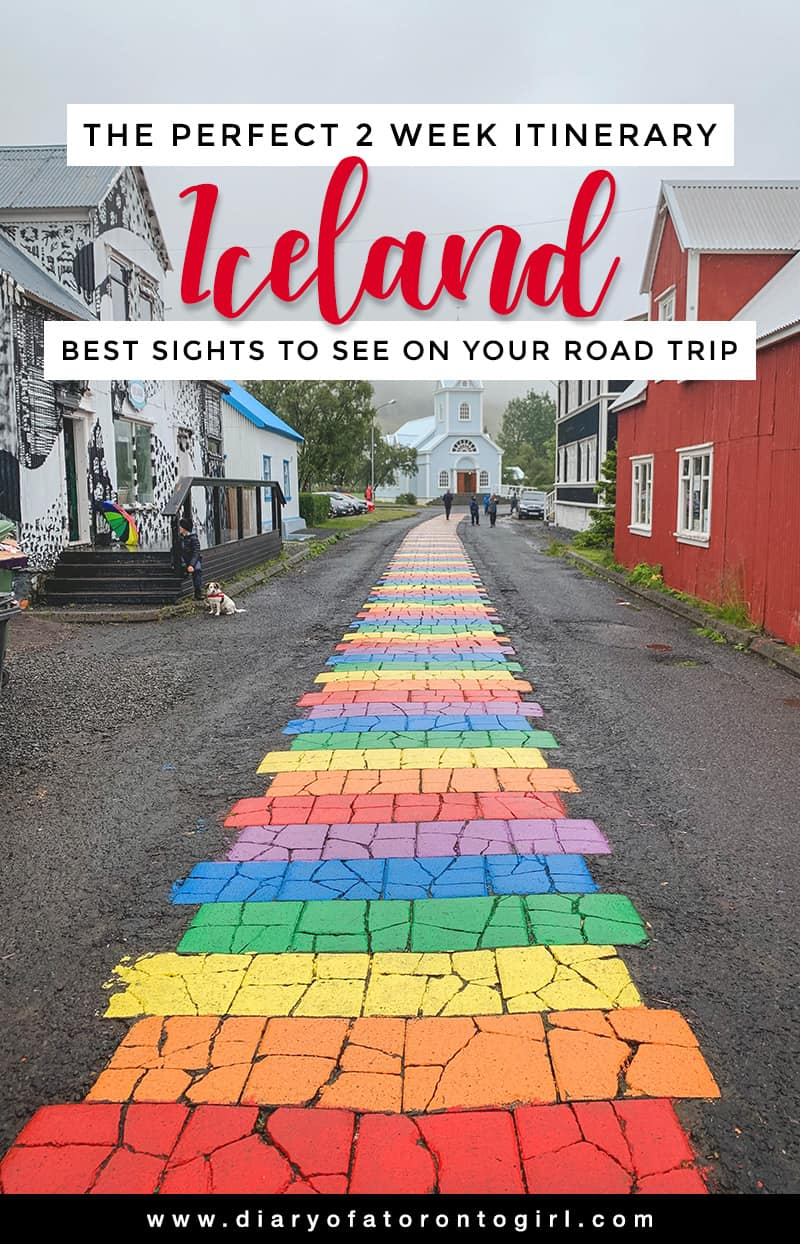The ultimate 2 week Iceland road trip itinerary, featuring all the best and coolest spots to visit and explore! From epic waterfalls to turquoise glacier lagoons, there's so much to see here in Iceland.