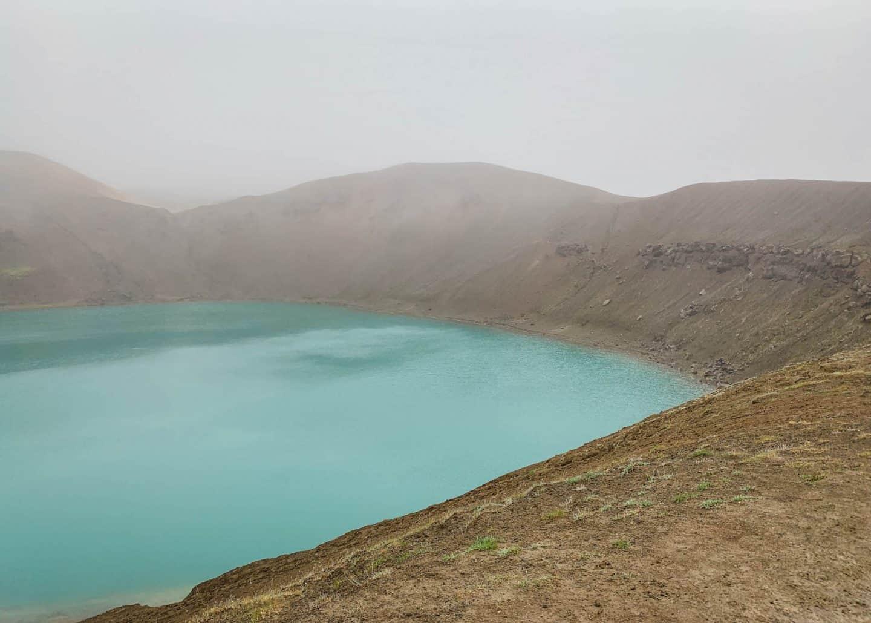Viti Crater in Myvatn, Iceland