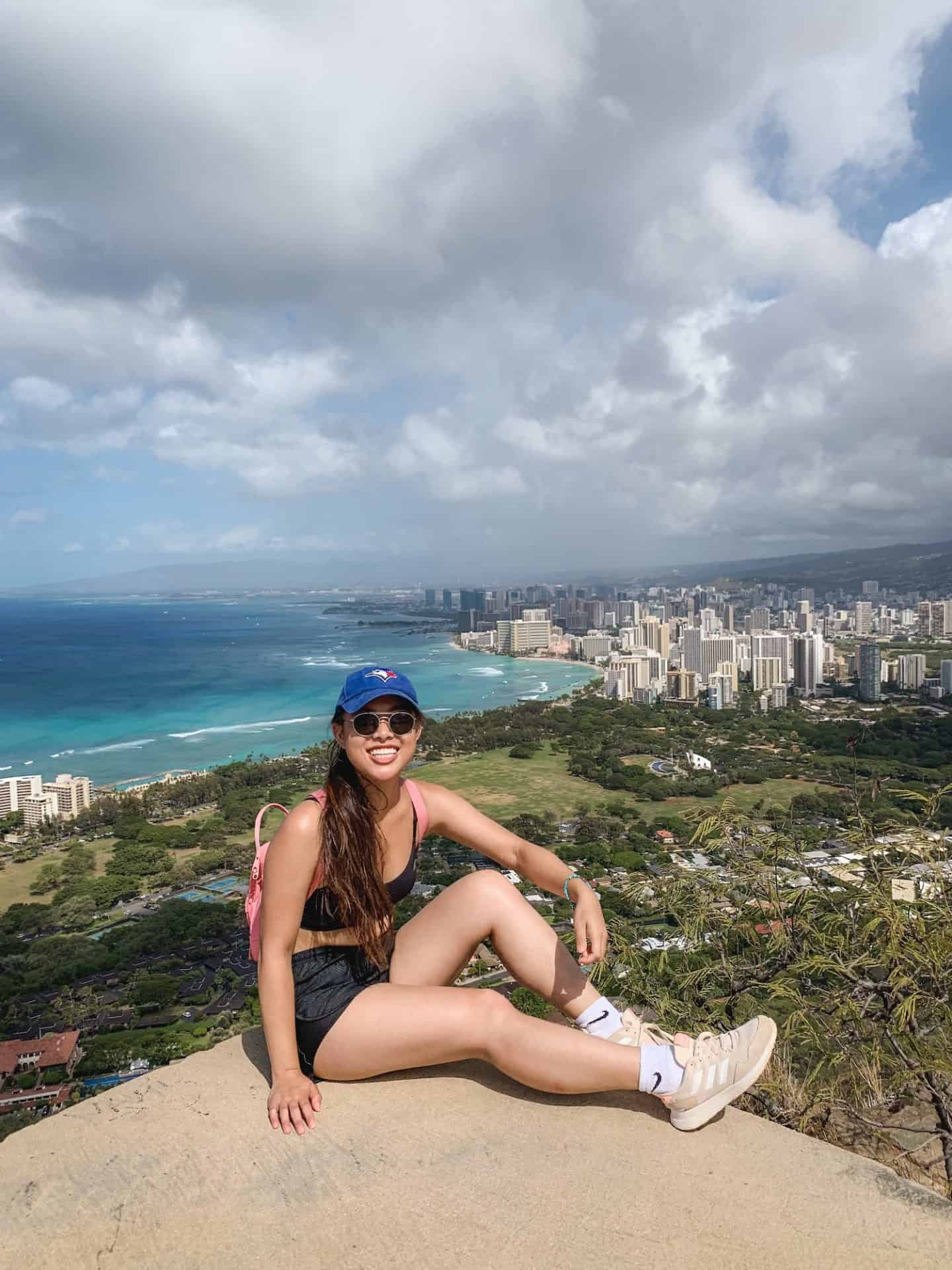 The Diamond Head Crater hike is one of the best hikes to add to your Oahu itinerary