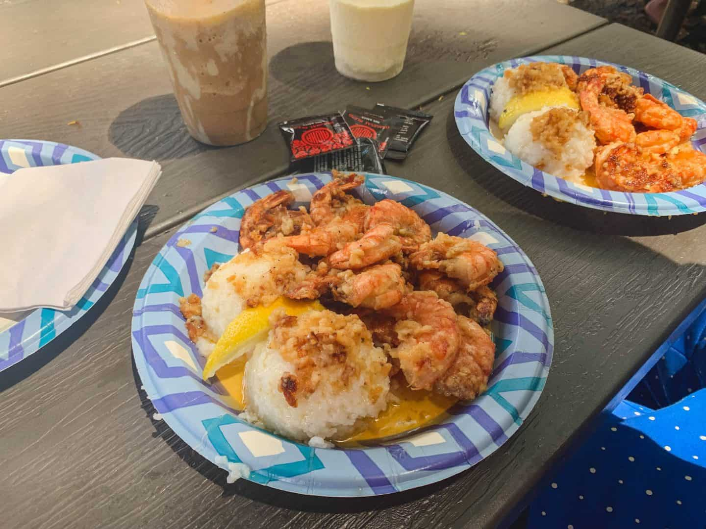 Giovanni's Shrimp Truck is one of the best food spots to add to your Oahu itinerary