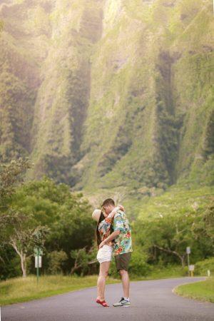 Hoomaluhia Botanical Garden in Oahu, Hawaii