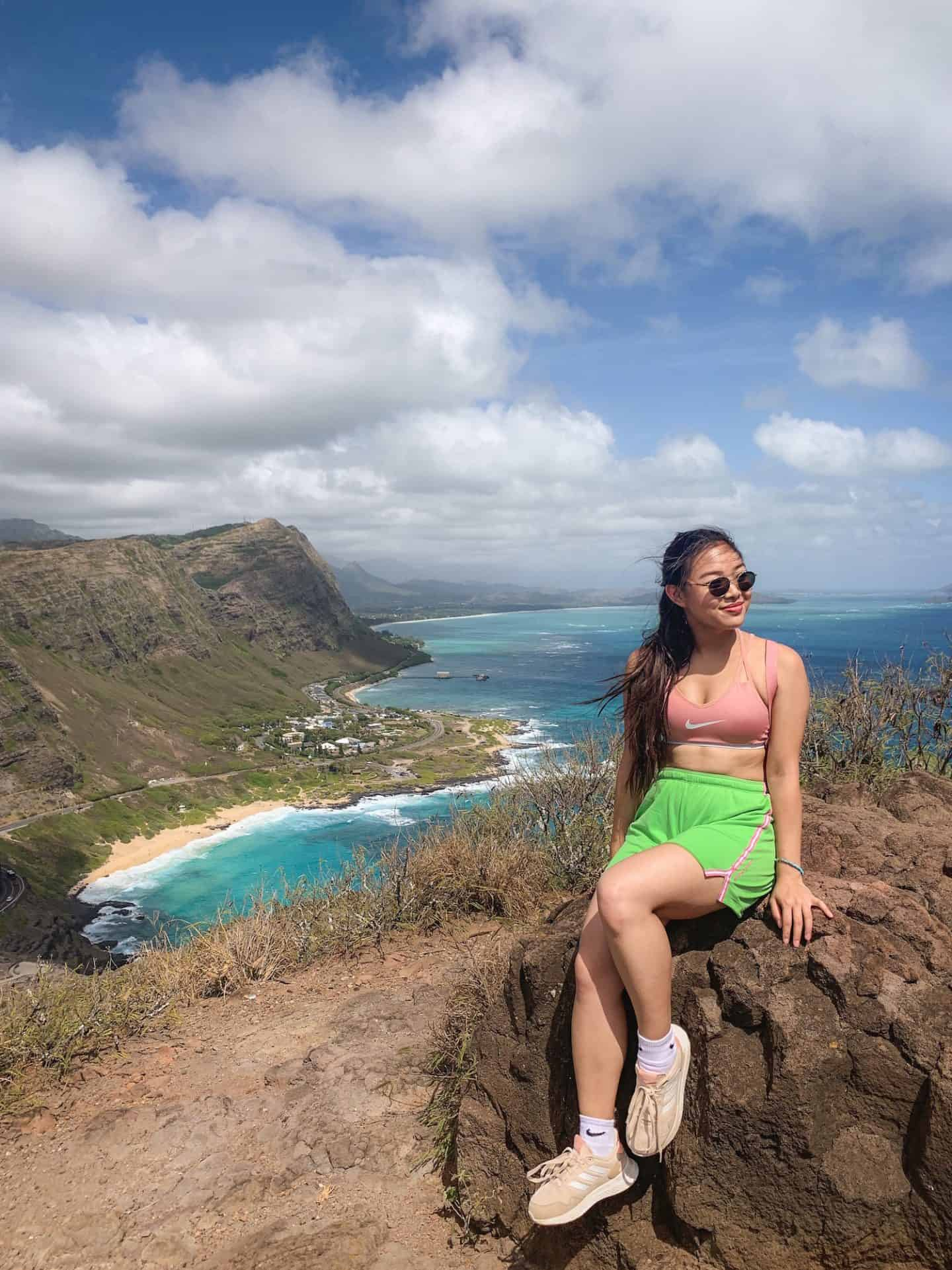 The Makapu'u Lighthouse Trail hike is one of the best hikes to add to your Oahu itinerary