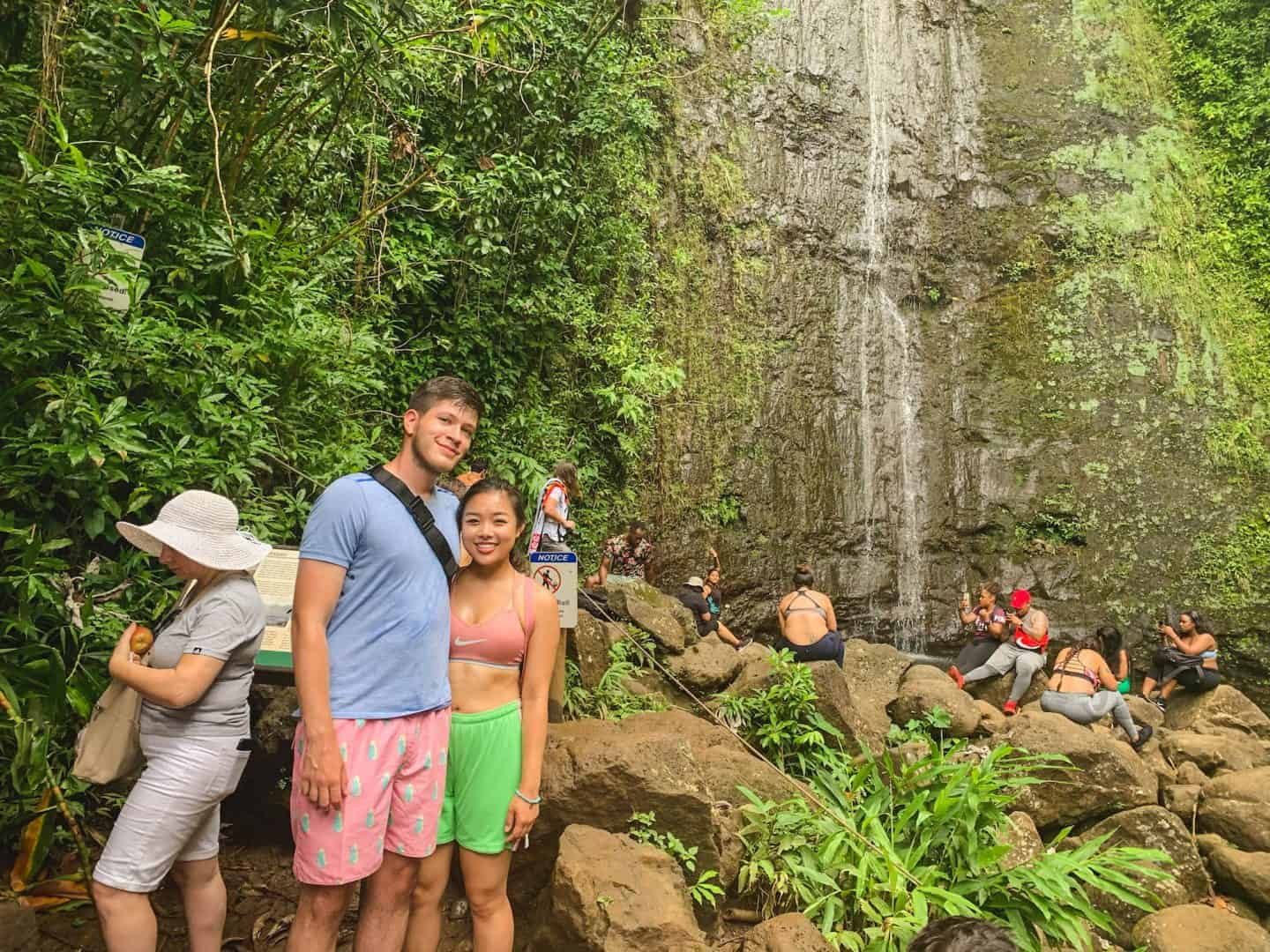 The Mauniwili Falls hike is one of the best hikes to add to your Oahu itinerary