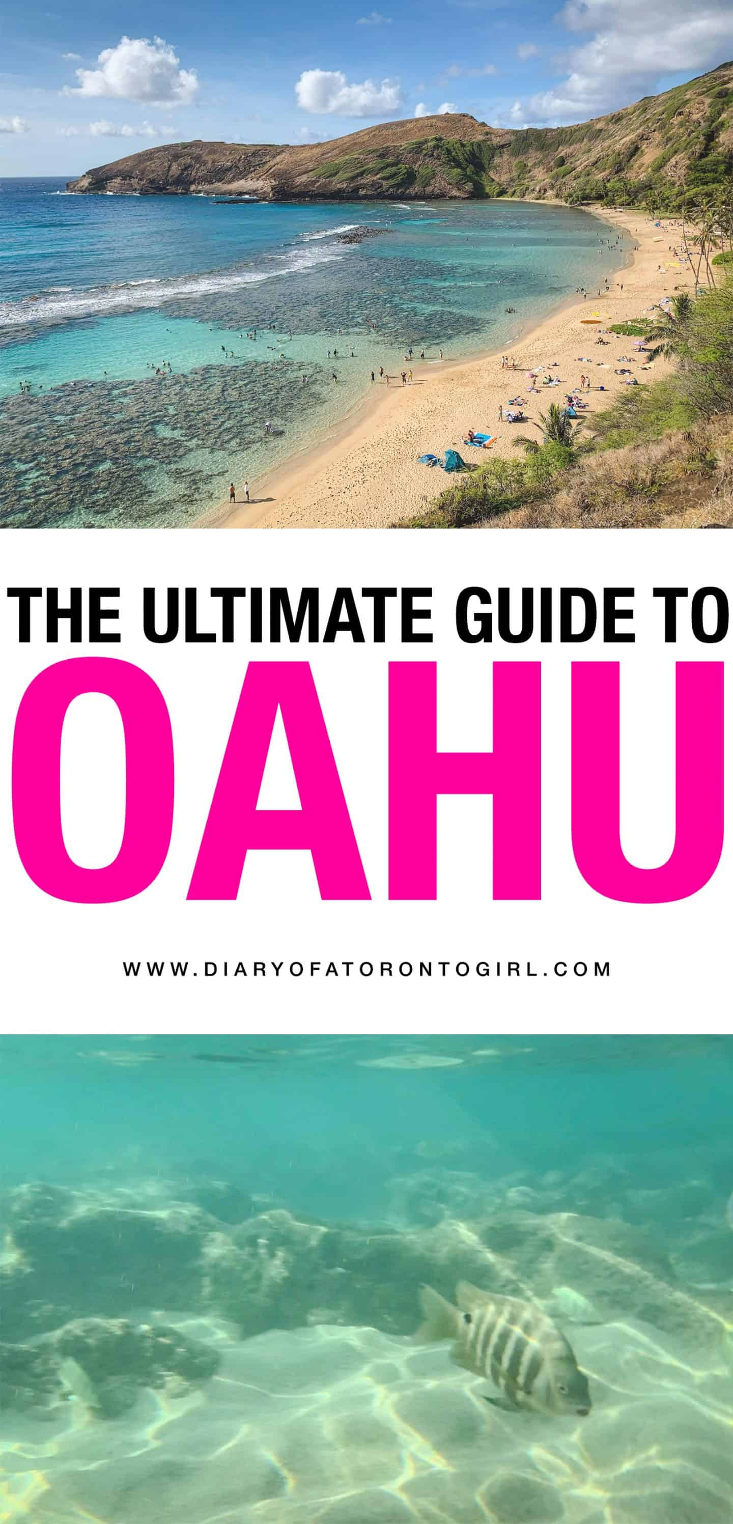 The ultimate Oahu itinerary, featuring all the best things to see and do, top places to eat, and more!