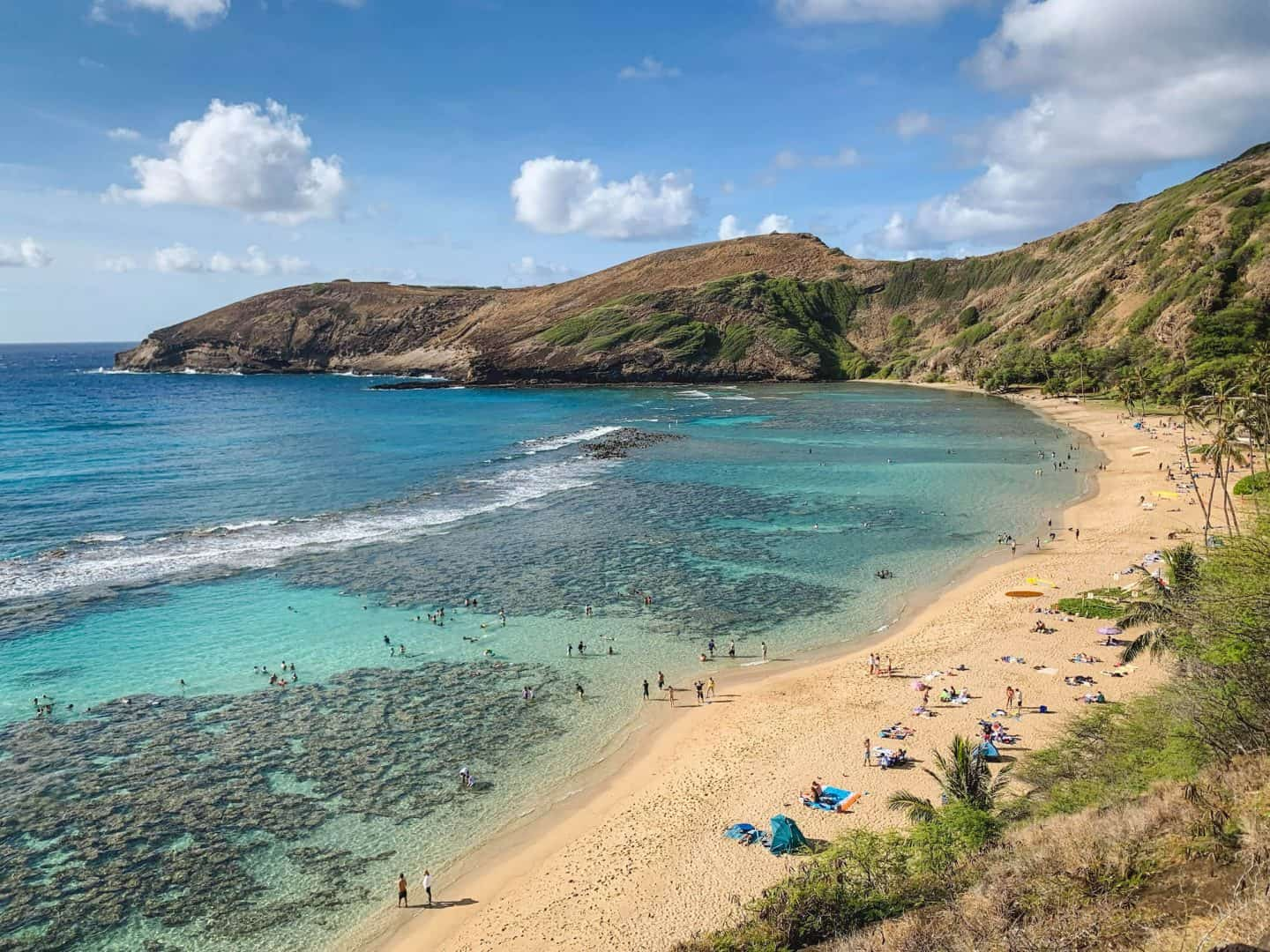 As the best place to snorkel on the island, Hanauma Bay is worth adding to your Oahu itinerary