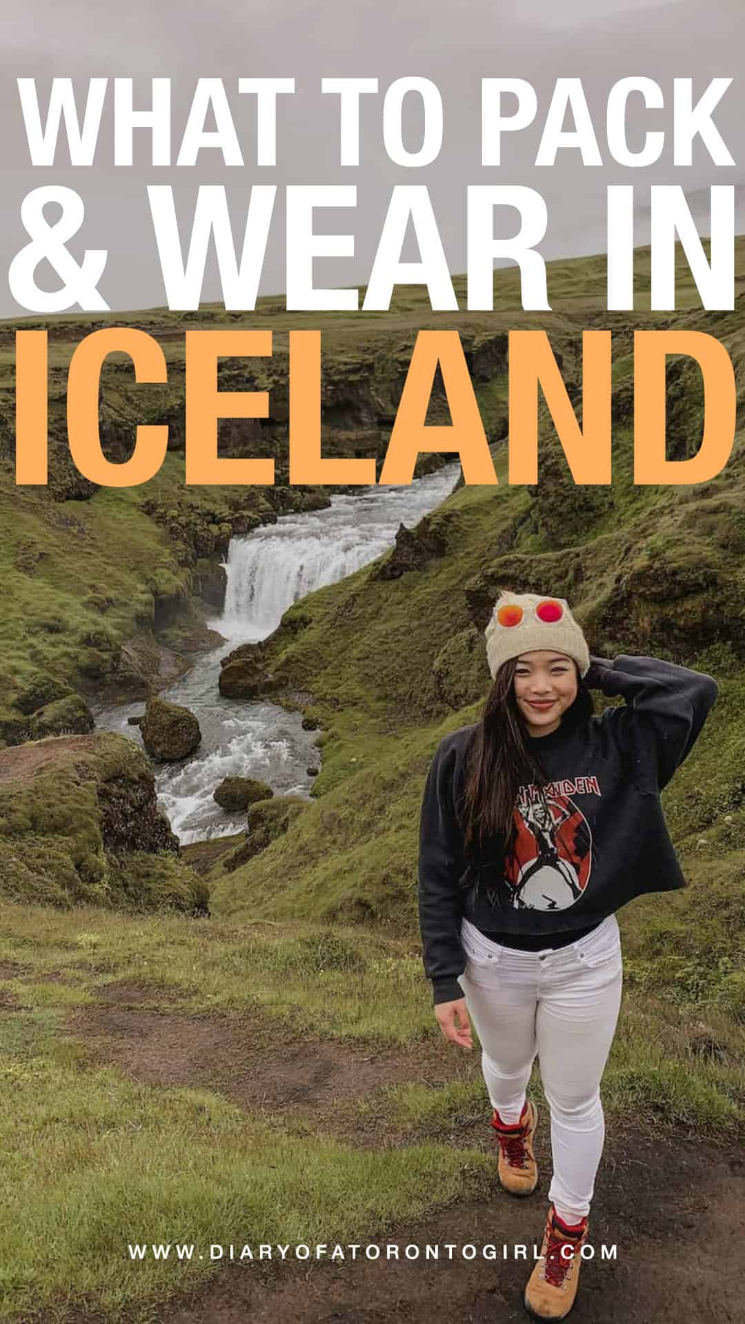 What to pack and wear in Iceland during the summer months! Iceland is cold year-round, so you should be prepared with the right gear and clothing. Here's your ultimate packing guide, whether you're visiting for 7 days or 2 weeks!