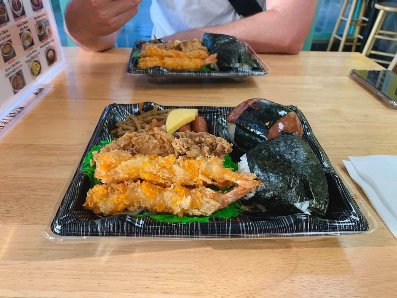 Musubi Cafe in Honolulu, Hawaii