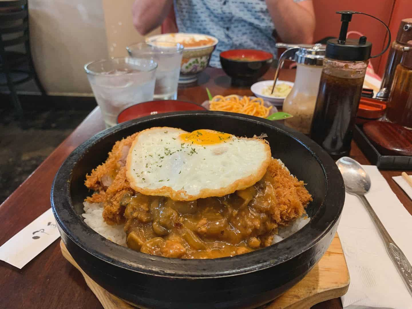 Tonkatsu Ginza Bairn is one of the best restaurants to add to your Oahu itinerary
