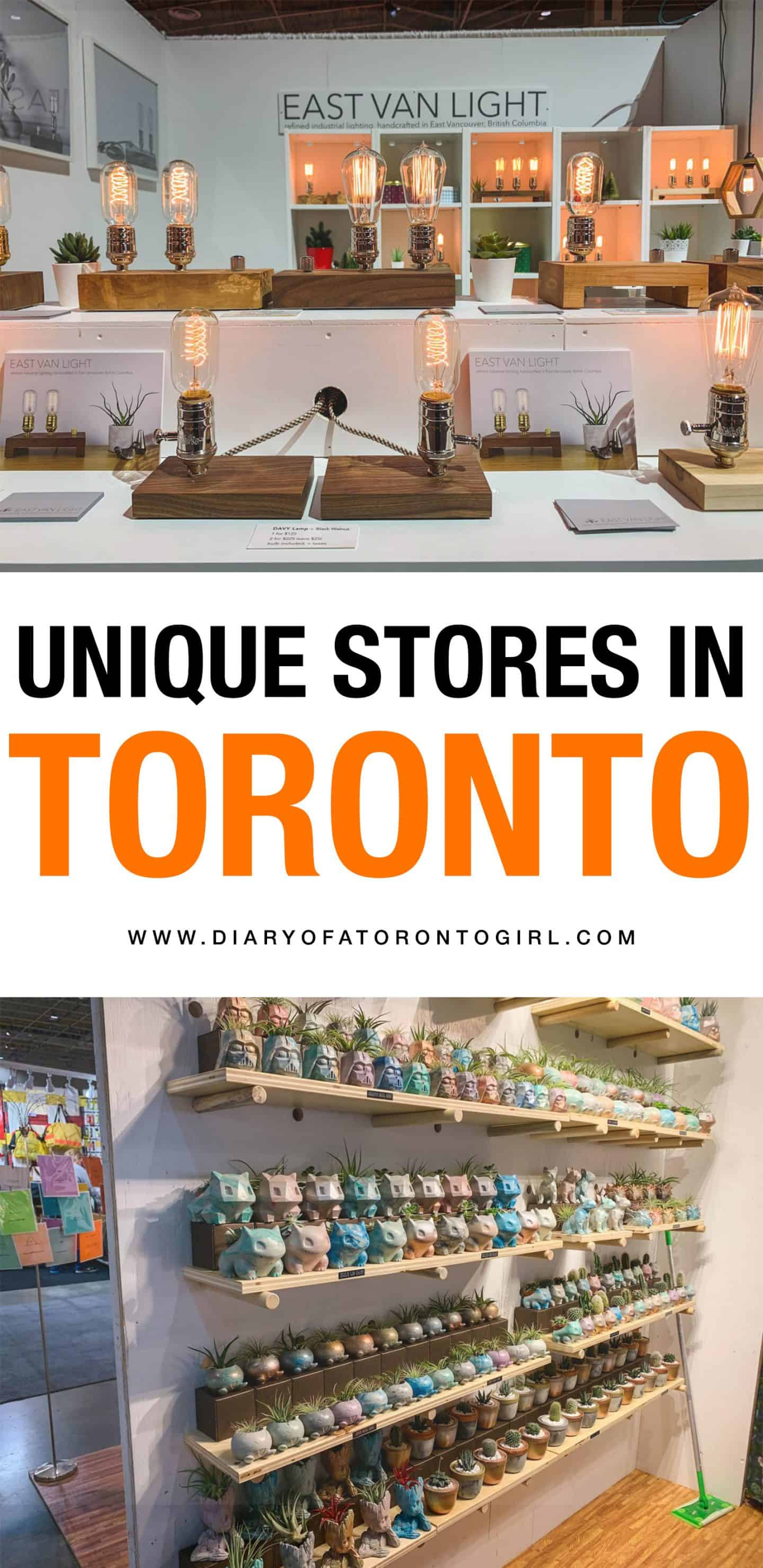 Looking to find more unique Toronto gifts for your loved ones? Here are some great stores that are perfect for all of your gift shopping!
