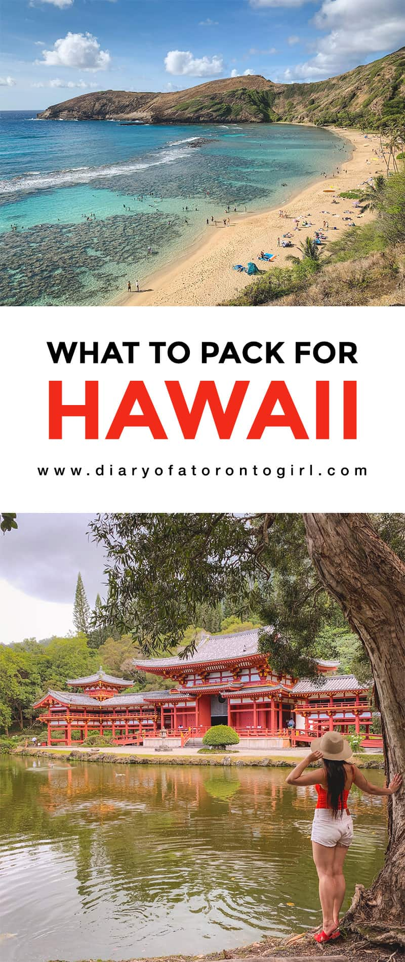 What to pack and what to wear in Hawaii's hot weather! We spent 10 days in sunny Oahu, and I've included photos of all the outfits I wore during our vacation.