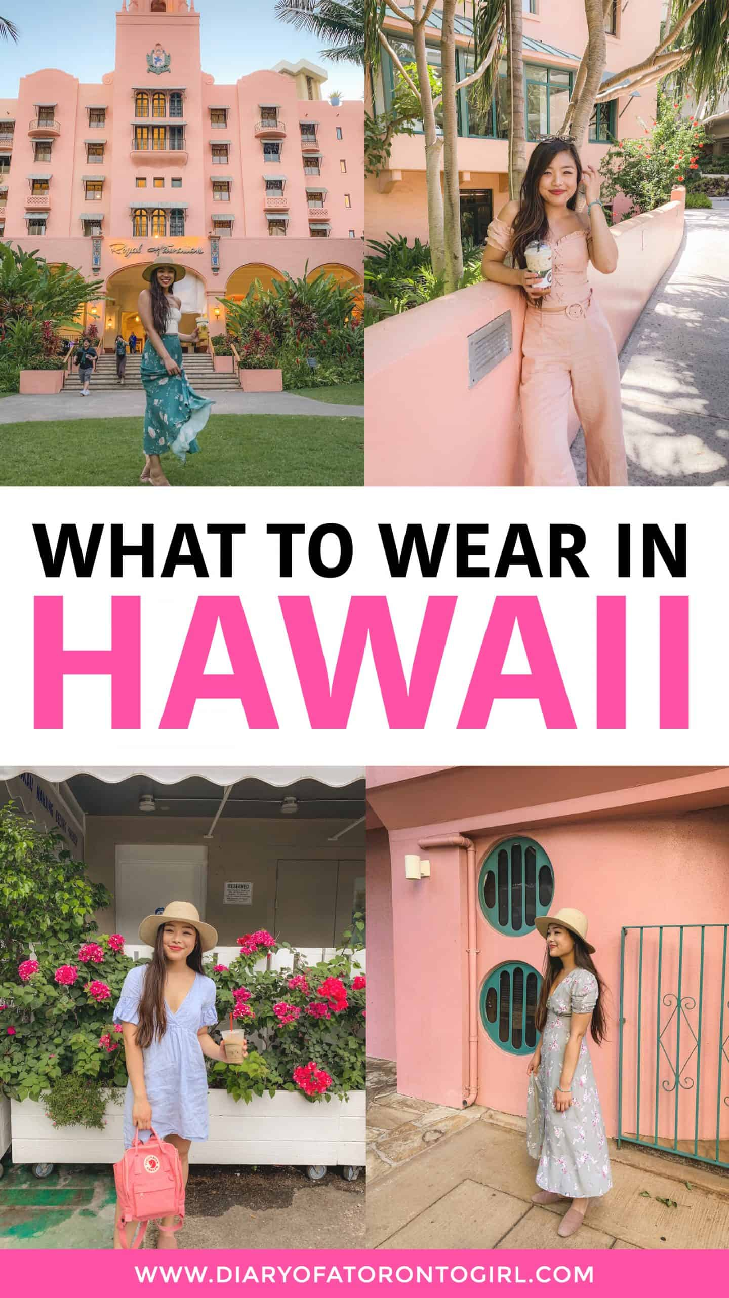 Hawaii vacation outfits: what to wear